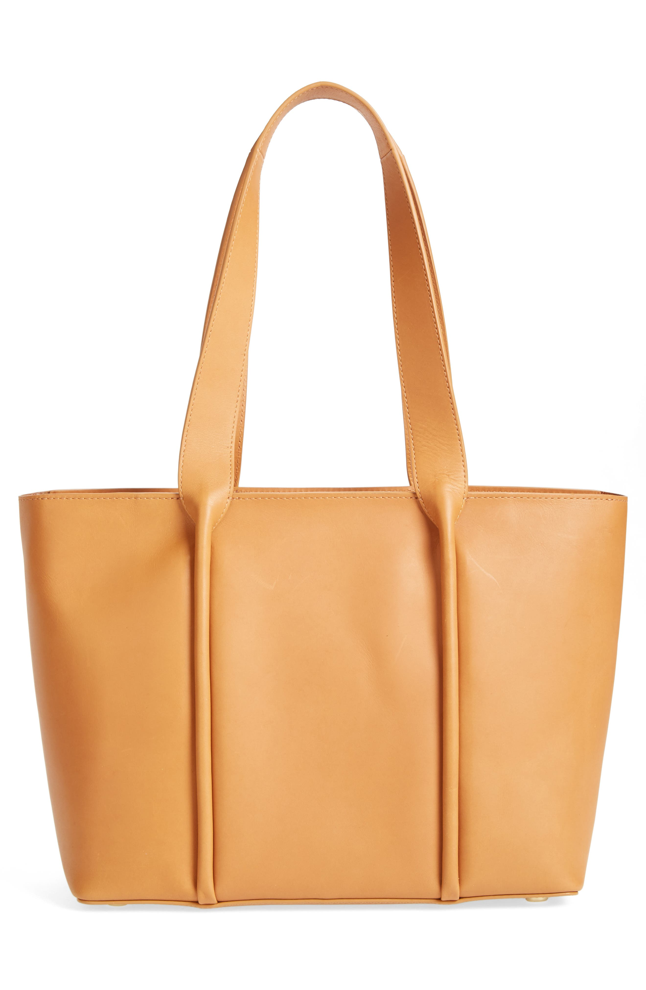 Lisabet Leather Tote,                             Alternate thumbnail 4, color,                             250