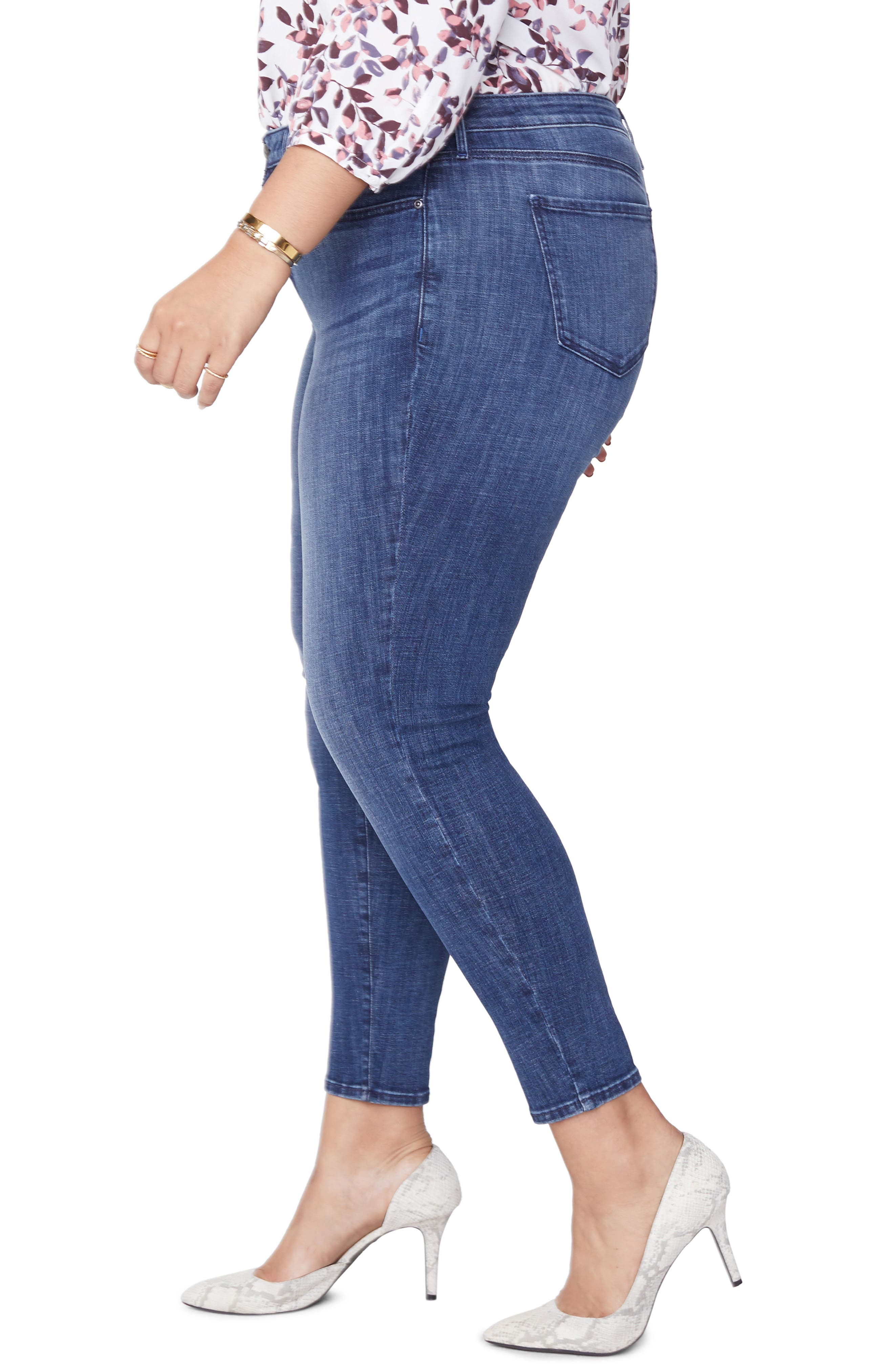 Ami Skinny Jeans,                             Alternate thumbnail 3, color,                             LUPINE