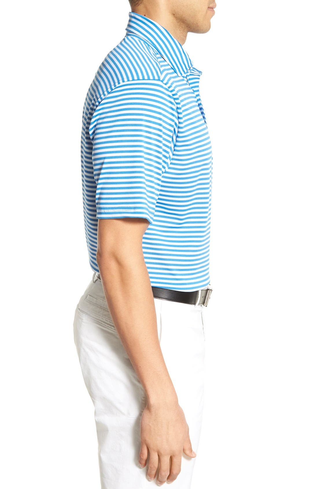 XH2O Feed Stripe Stretch Golf Polo,                             Alternate thumbnail 52, color,