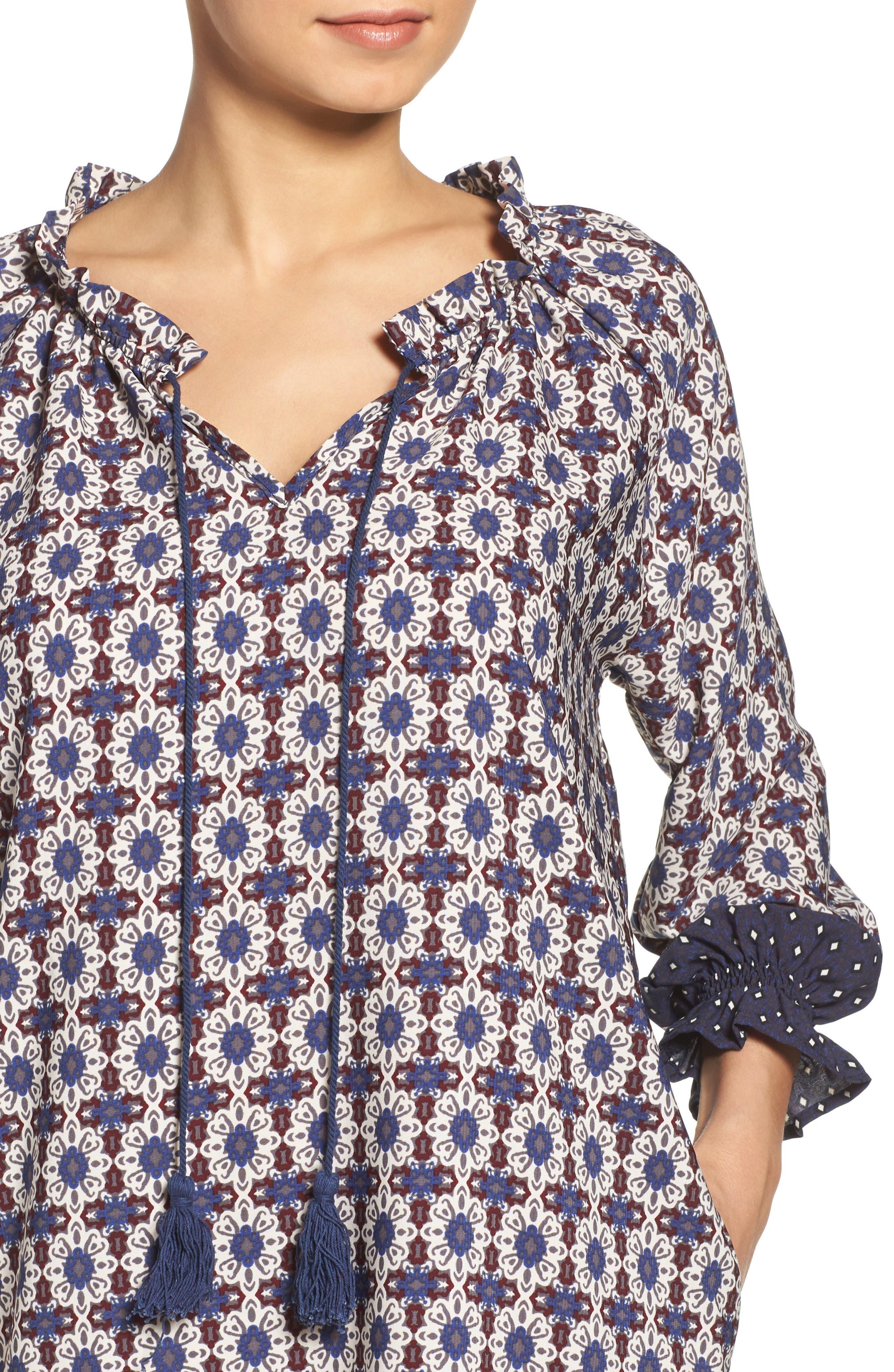 Catella Tunic Dress,                             Alternate thumbnail 5, color,                             410