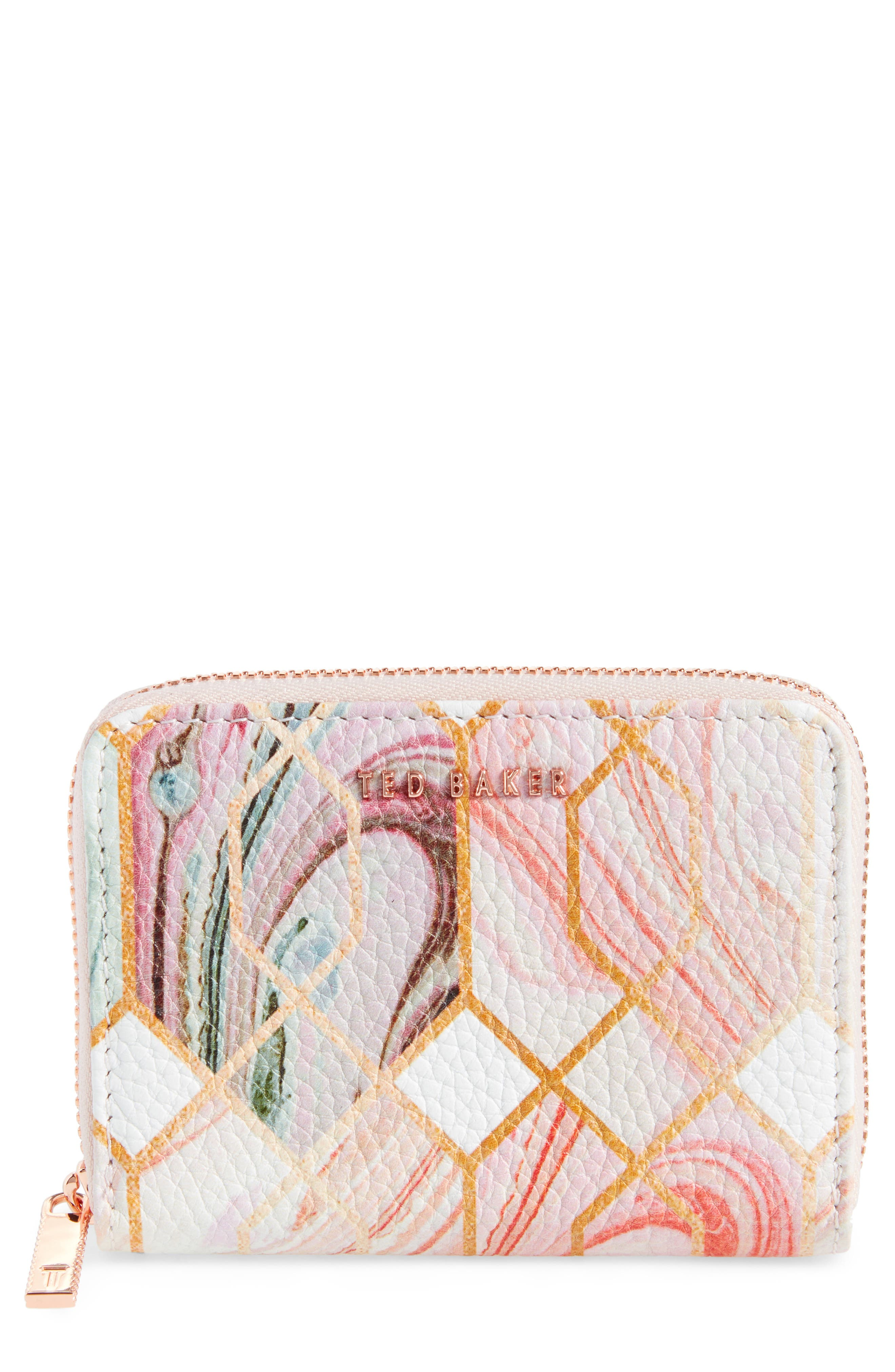 Small Sea of Clouds Coin Purse,                             Main thumbnail 1, color,