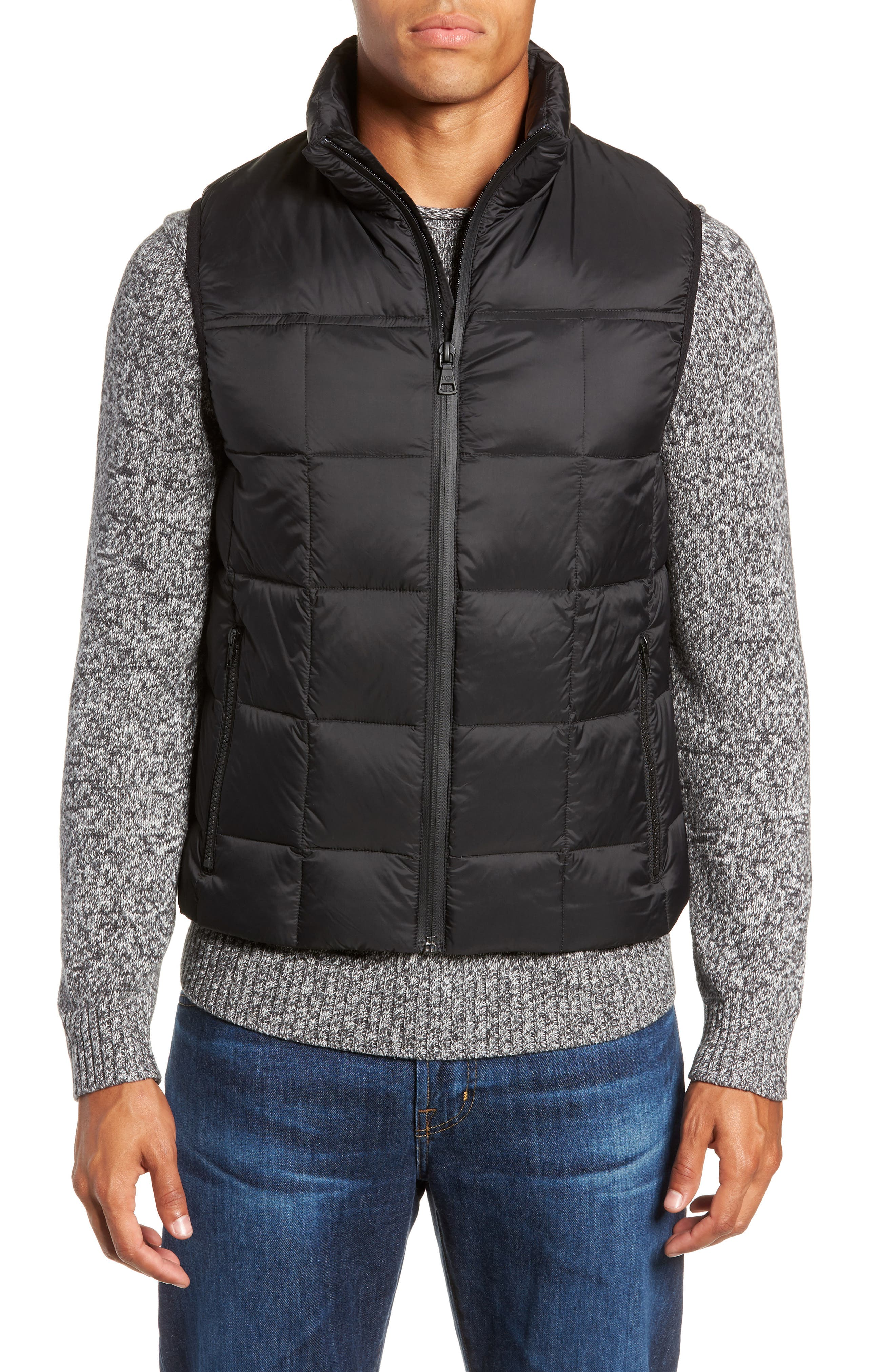 Butte Water-Resistant Down Parka with Genuine Shearling Trim,                             Alternate thumbnail 2, color,                             BLACK