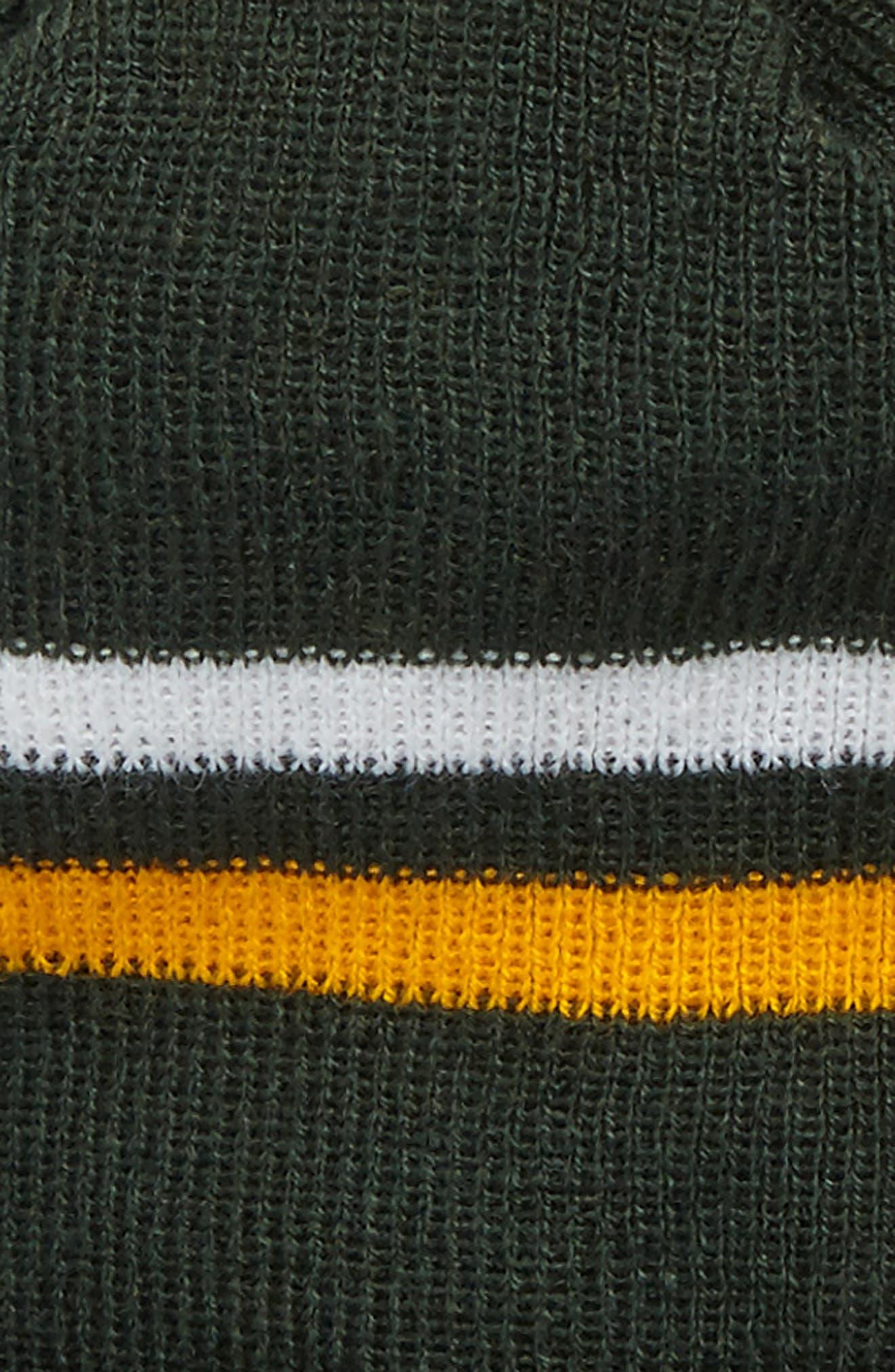 NFL Logo Pom Beanie & Tech Gloves Set,                             Alternate thumbnail 3, color,                             306