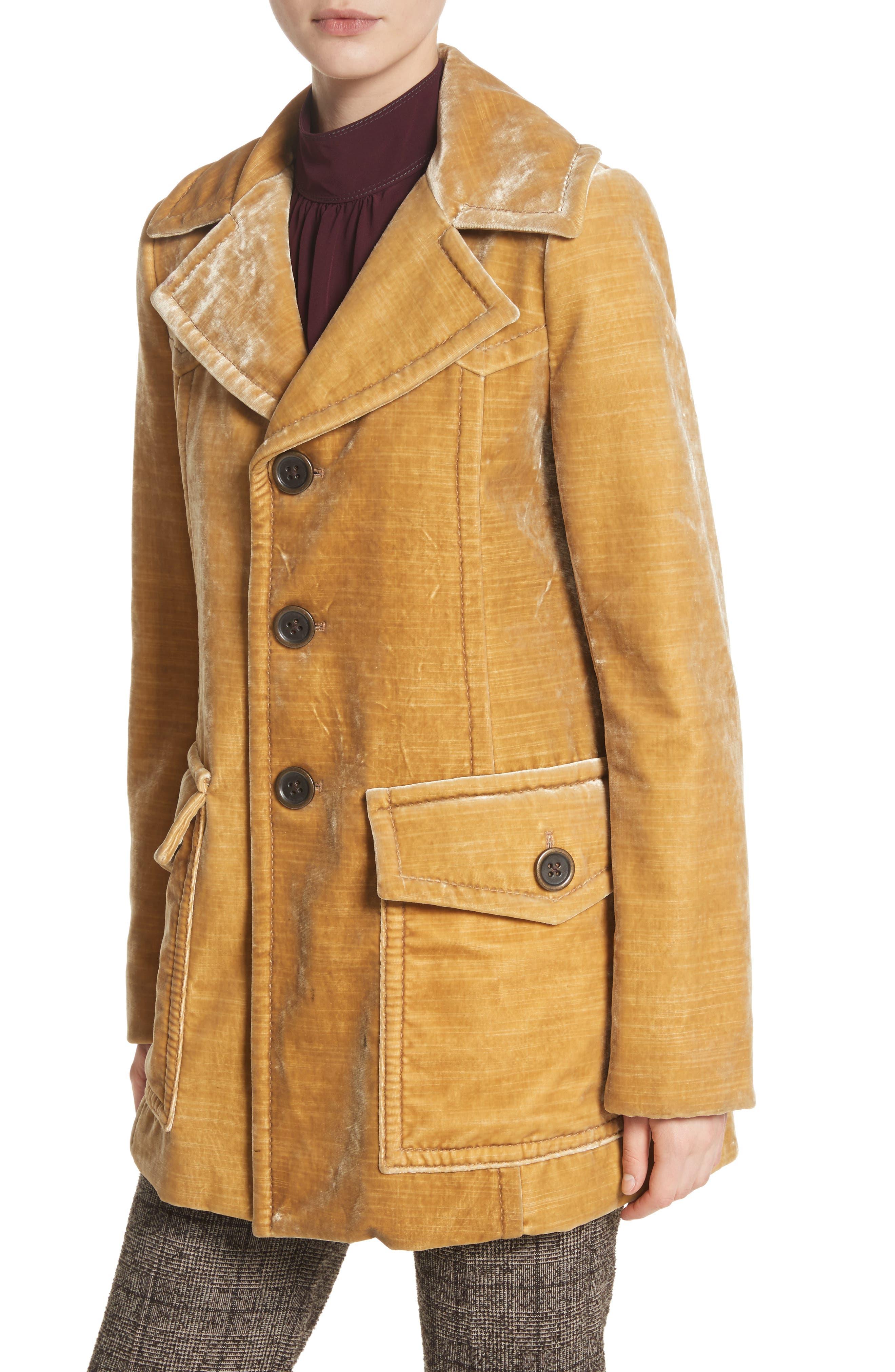 Velvet Coat,                             Alternate thumbnail 4, color,                             703