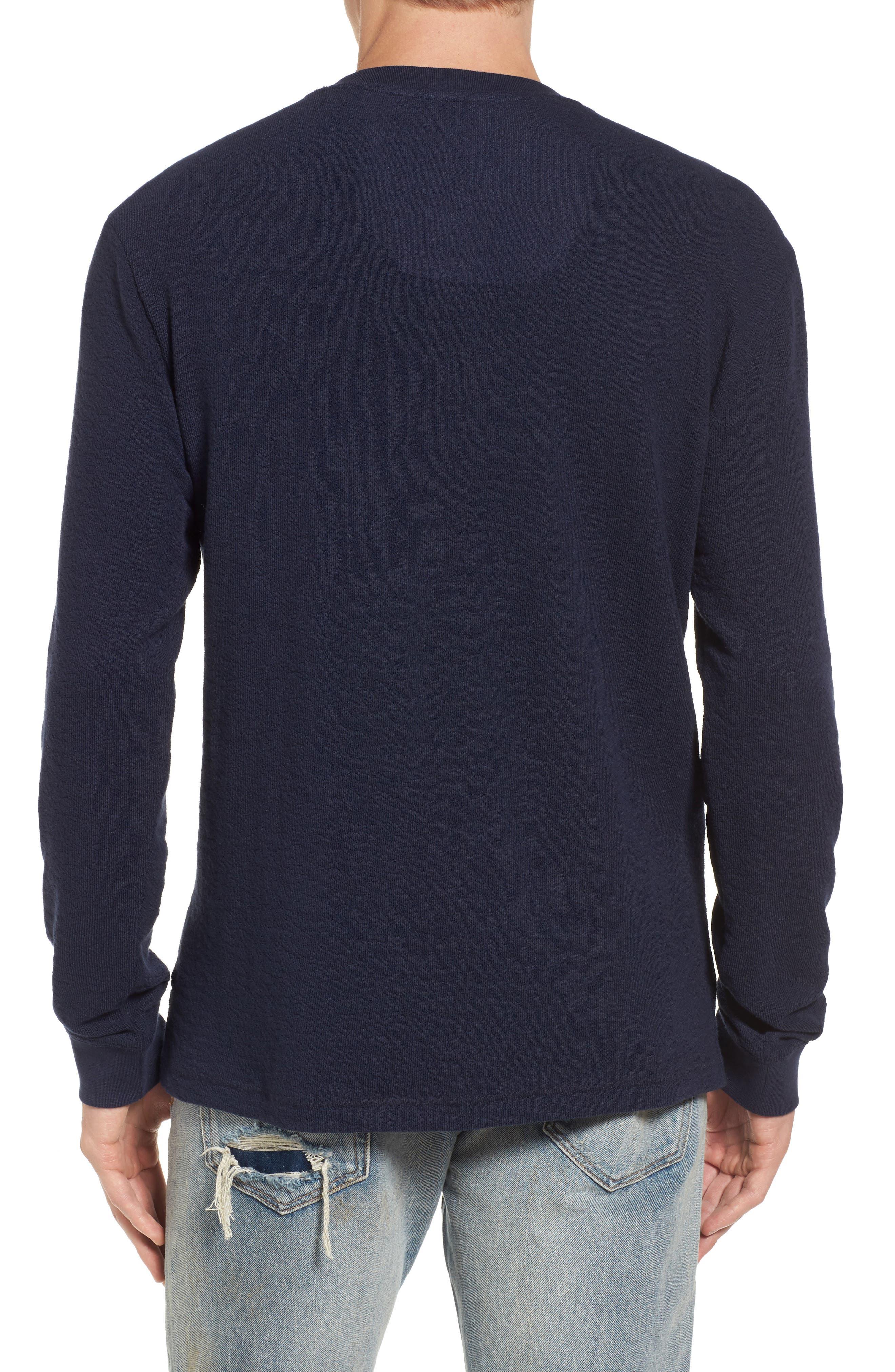 Canyon Long Sleeve Henley T-Shirt,                             Alternate thumbnail 2, color,                             410