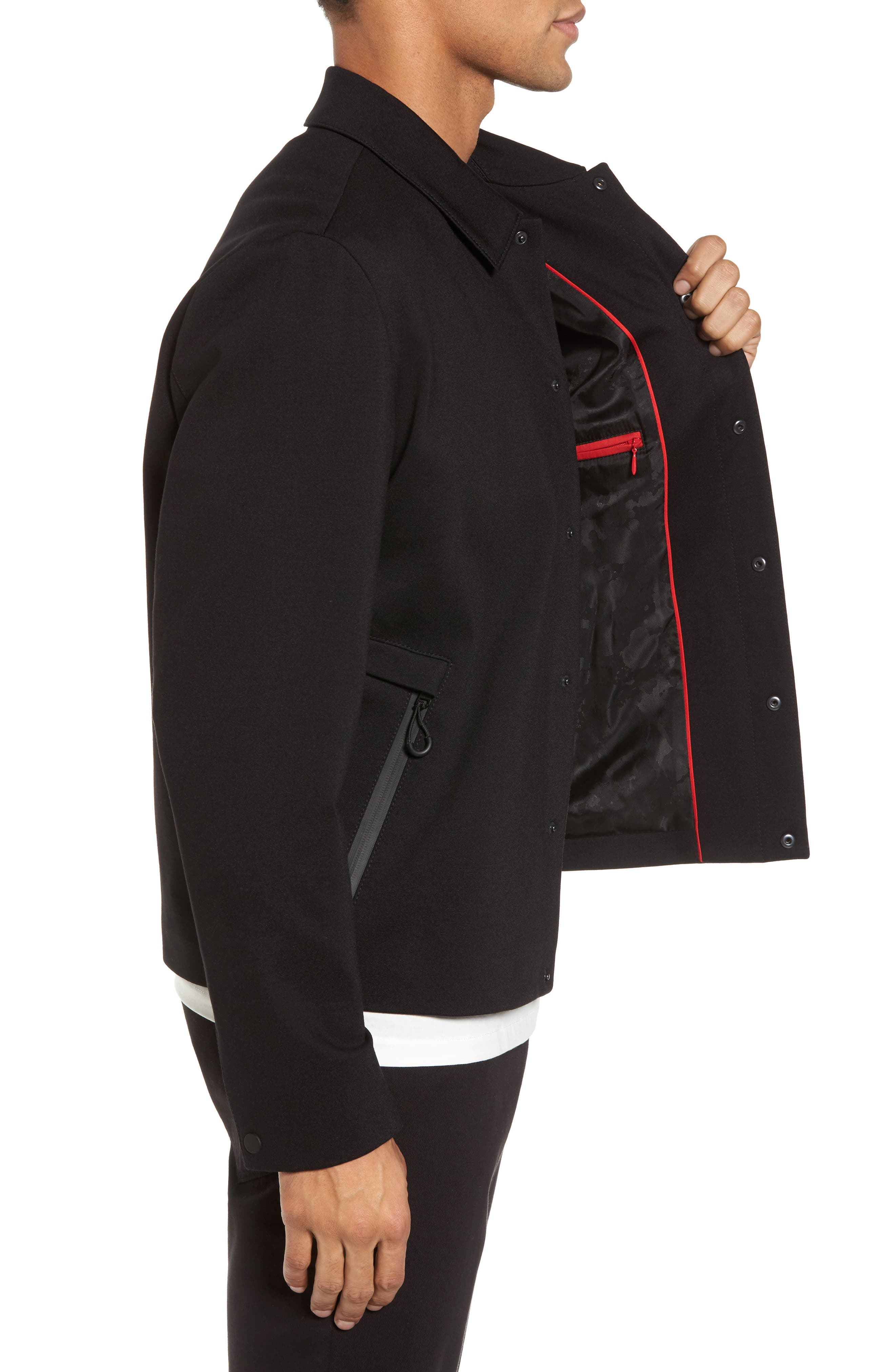 Hugo Boss Babenu Shirt Jacket,                             Alternate thumbnail 3, color,