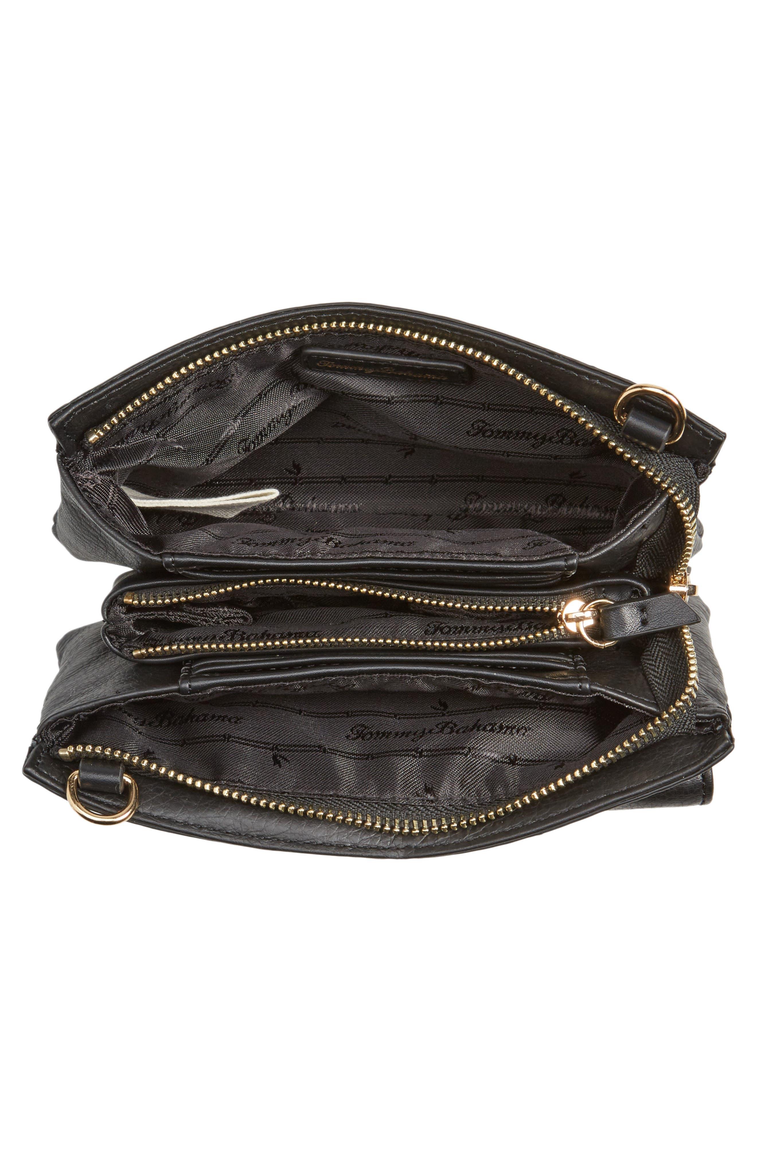 Katerini Leather Crossbody Wallet,                             Alternate thumbnail 21, color,