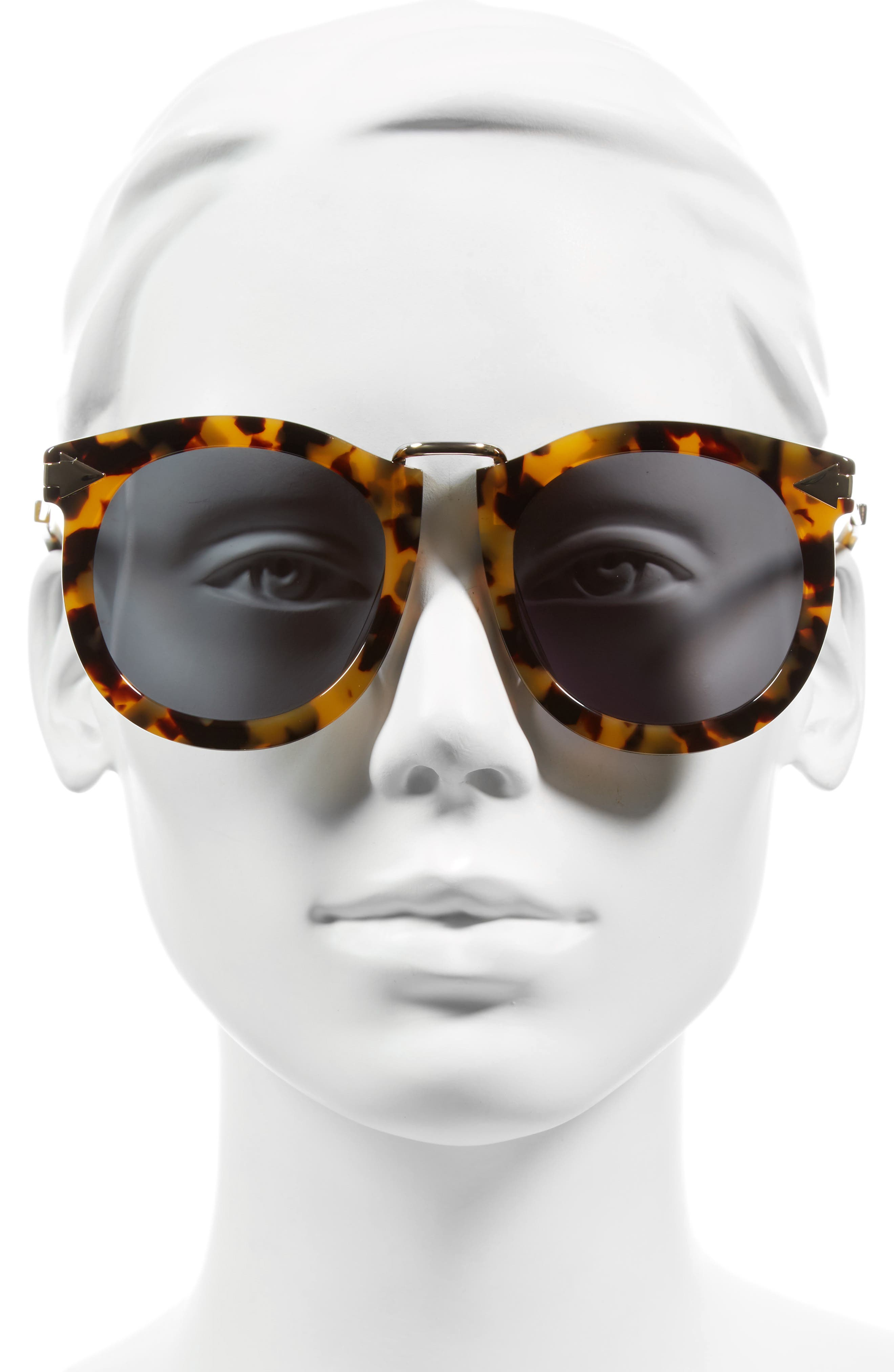Alternative Fit Super Lunar - Arrowed by Karen 50mm Sunglasses,                             Alternate thumbnail 6, color,
