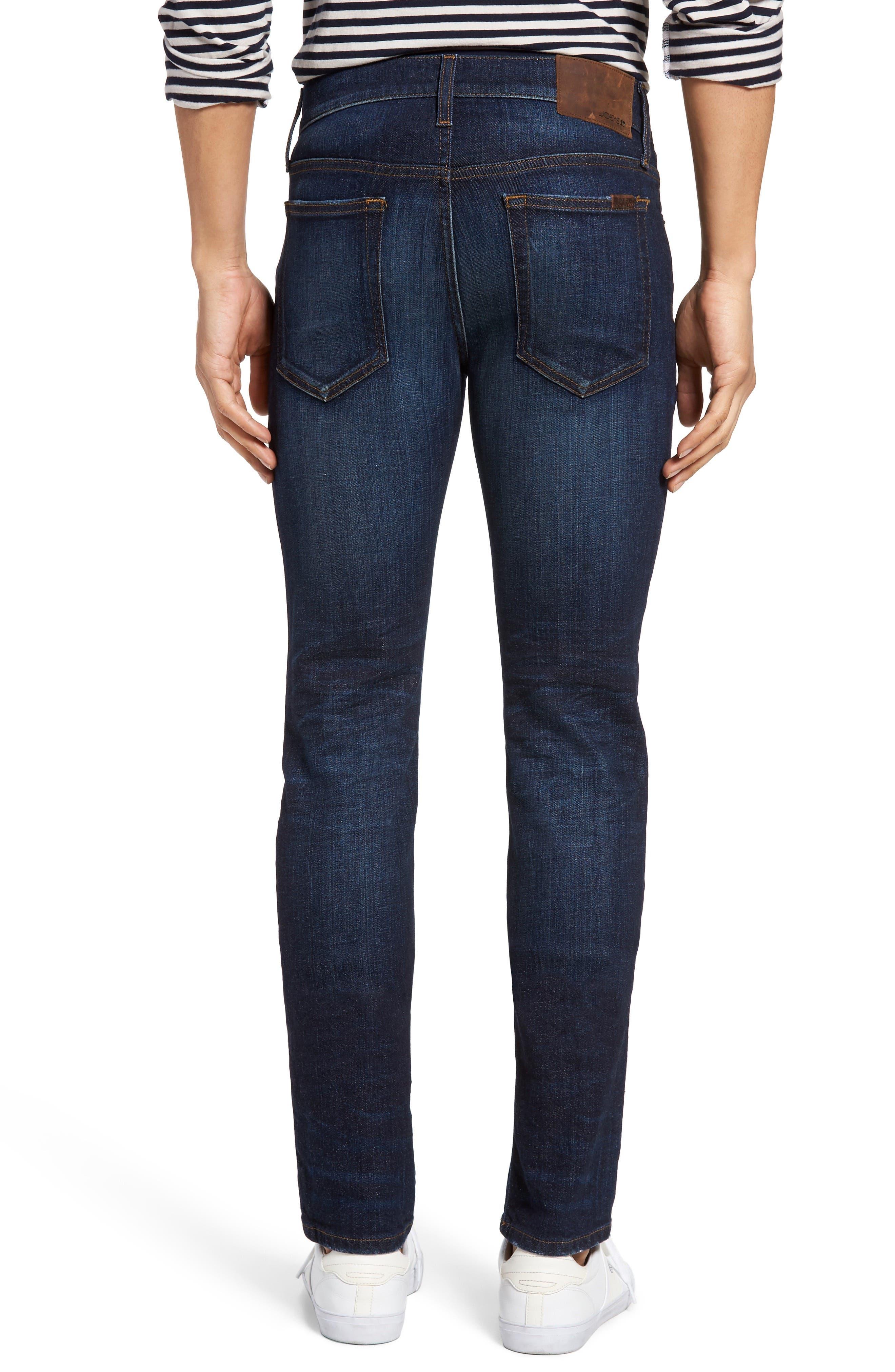 Classic Straight Leg Jeans,                             Alternate thumbnail 2, color,