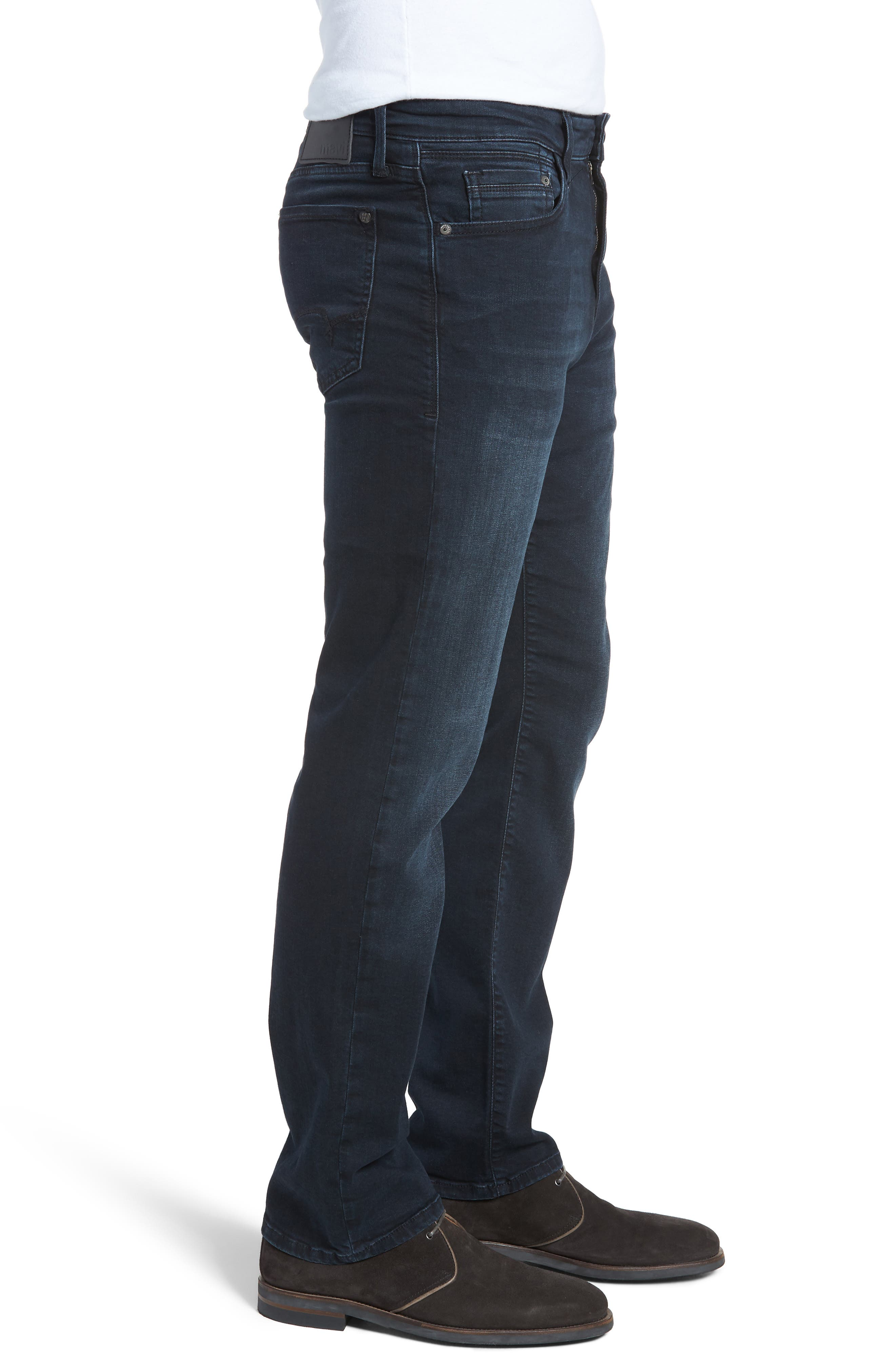 Matt Relaxed Fit Jeans,                             Alternate thumbnail 3, color,                             401
