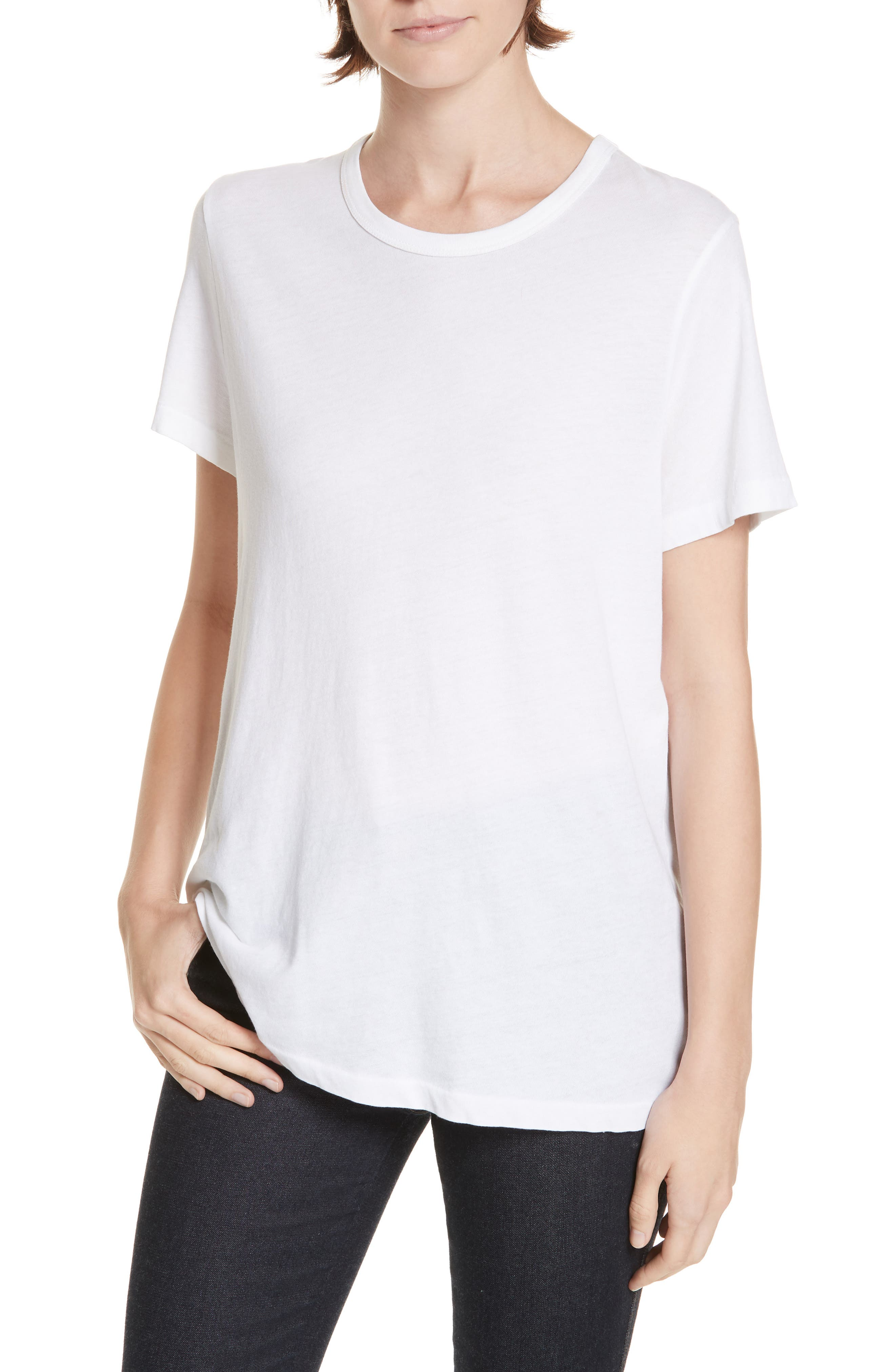Tee,                         Main,                         color, WHITE