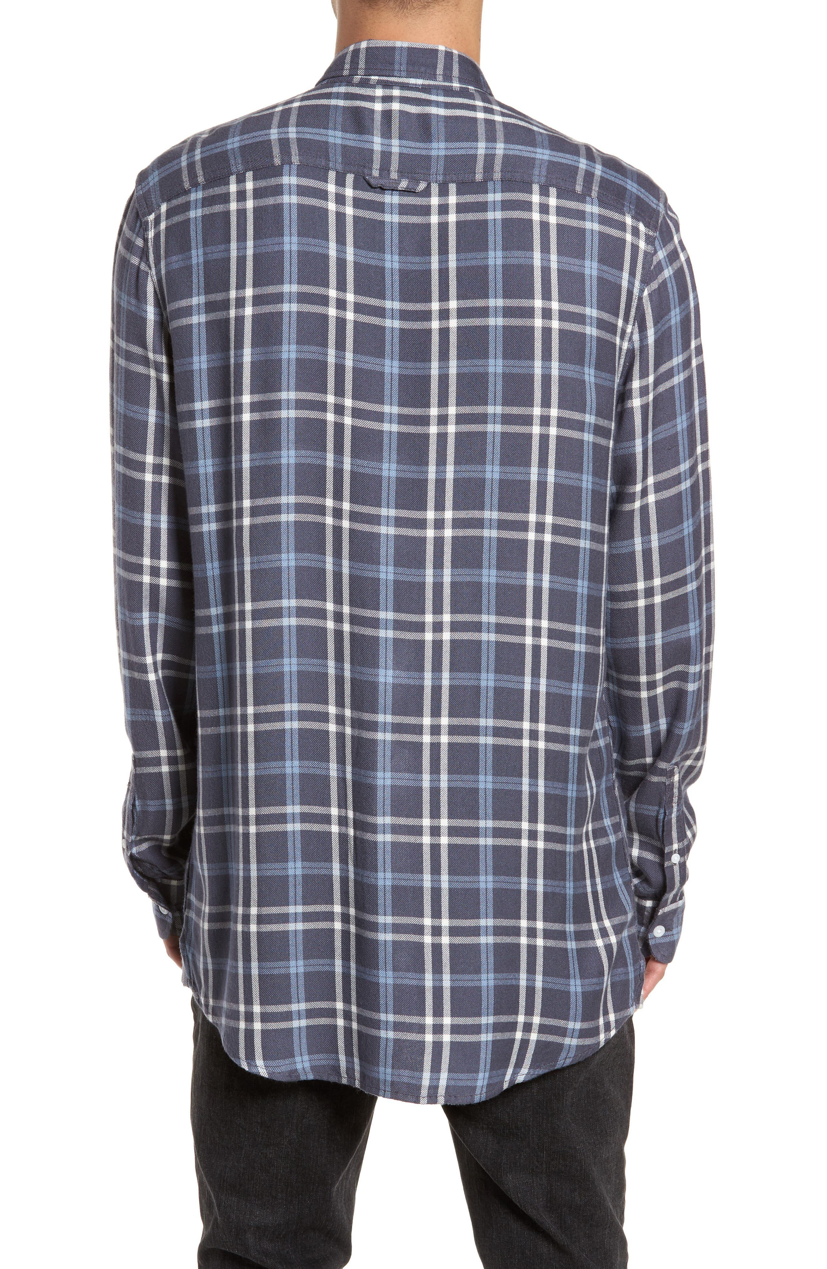 Yarn Dyed Plaid Shirt,                             Alternate thumbnail 4, color,