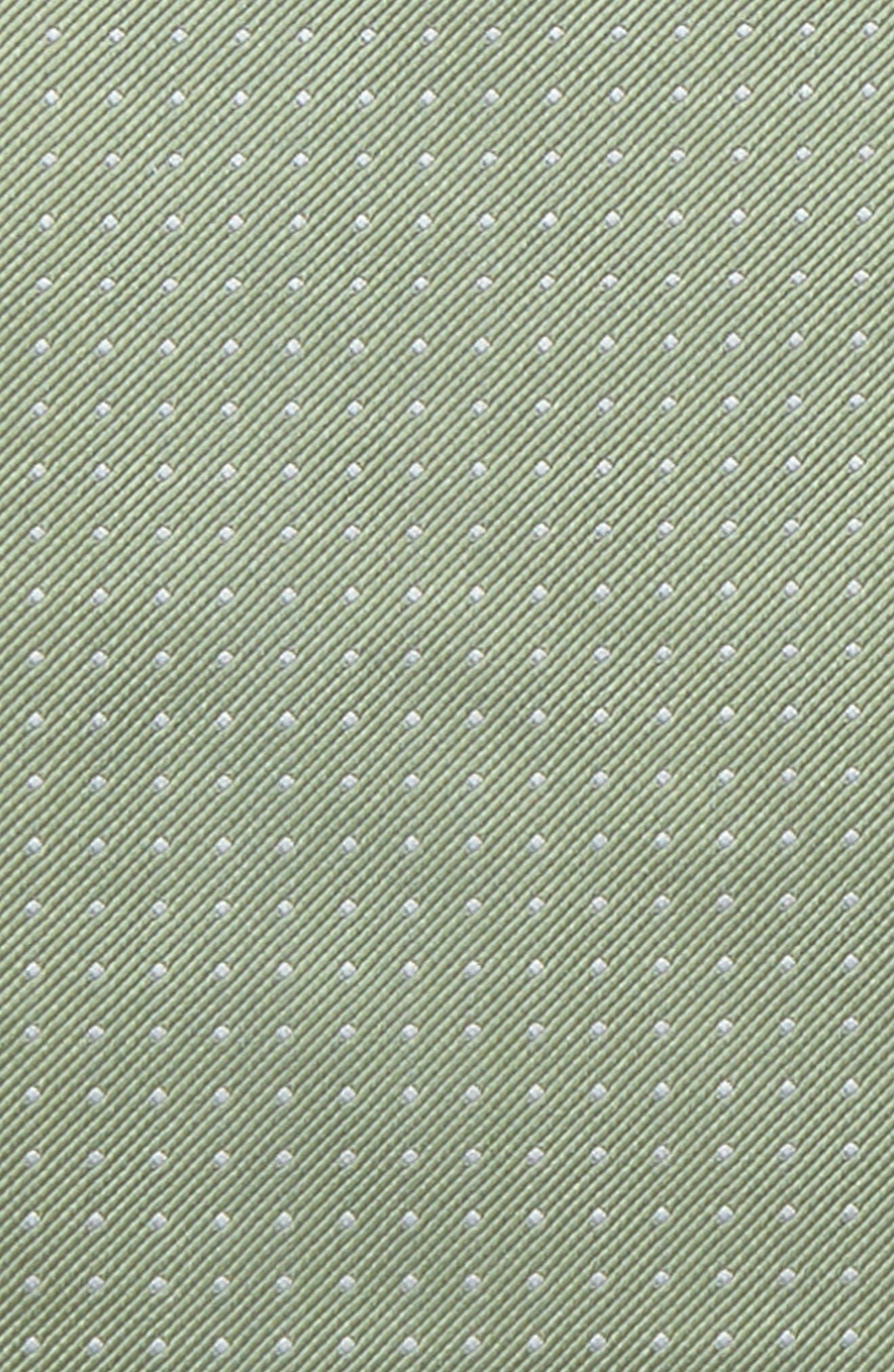 Mini Dots Silk Pocket Square,                             Alternate thumbnail 3, color,                             357
