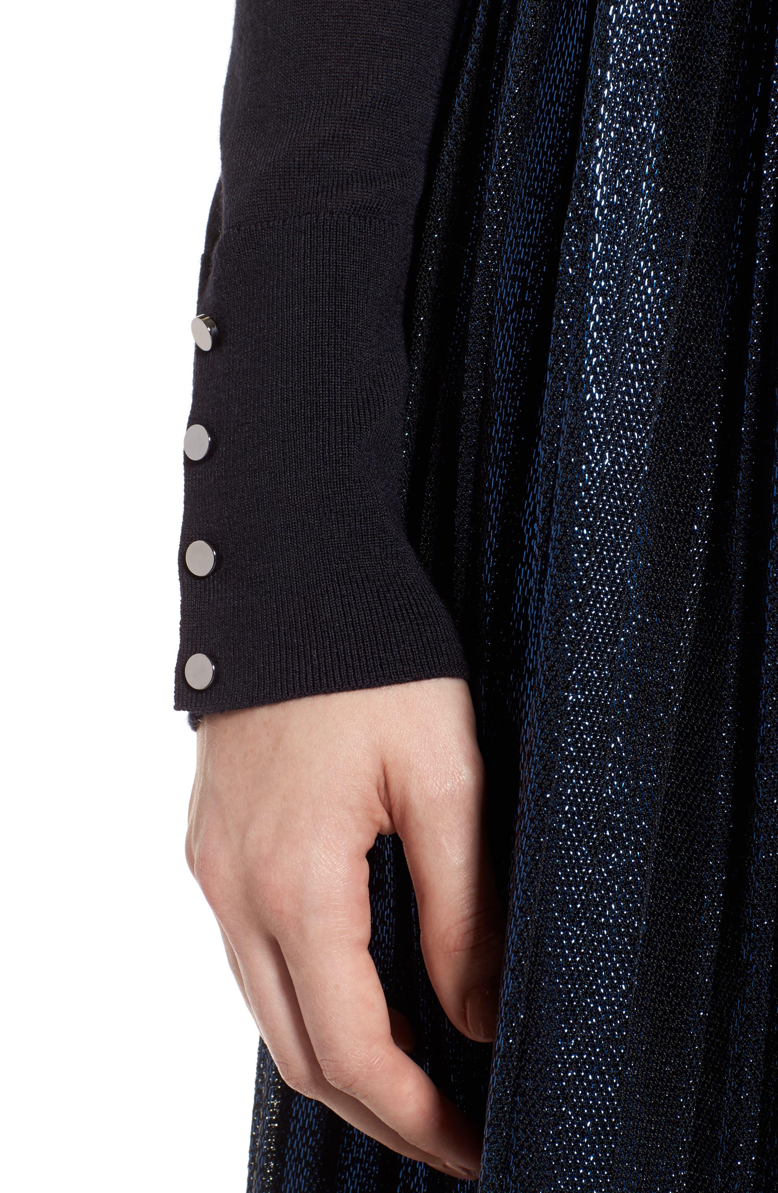 Farrella Wool Turtleneck Sweater,                             Alternate thumbnail 4, color,                             480
