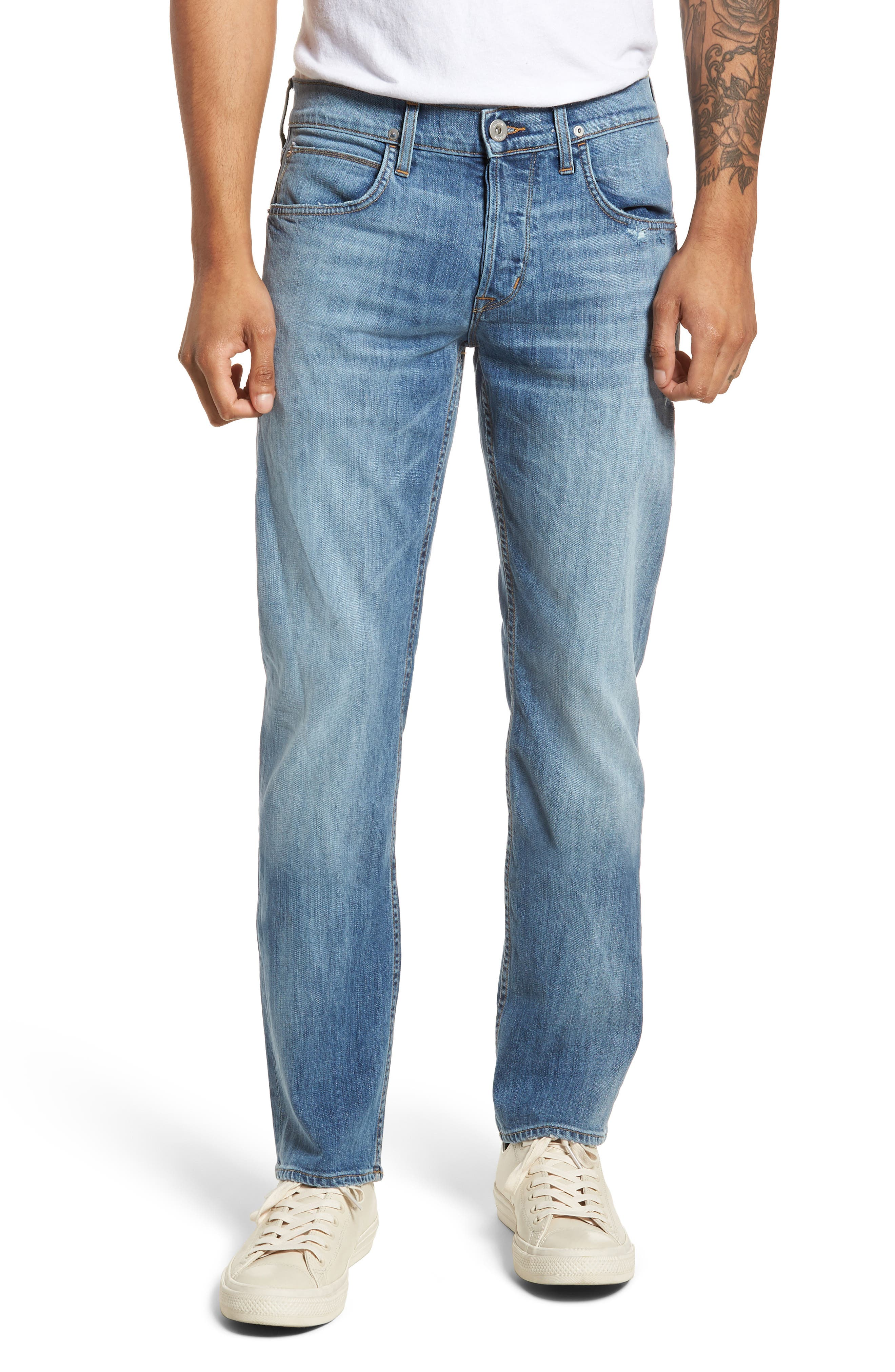 Byron Slim Straight Fit Jeans,                             Main thumbnail 1, color,                             425