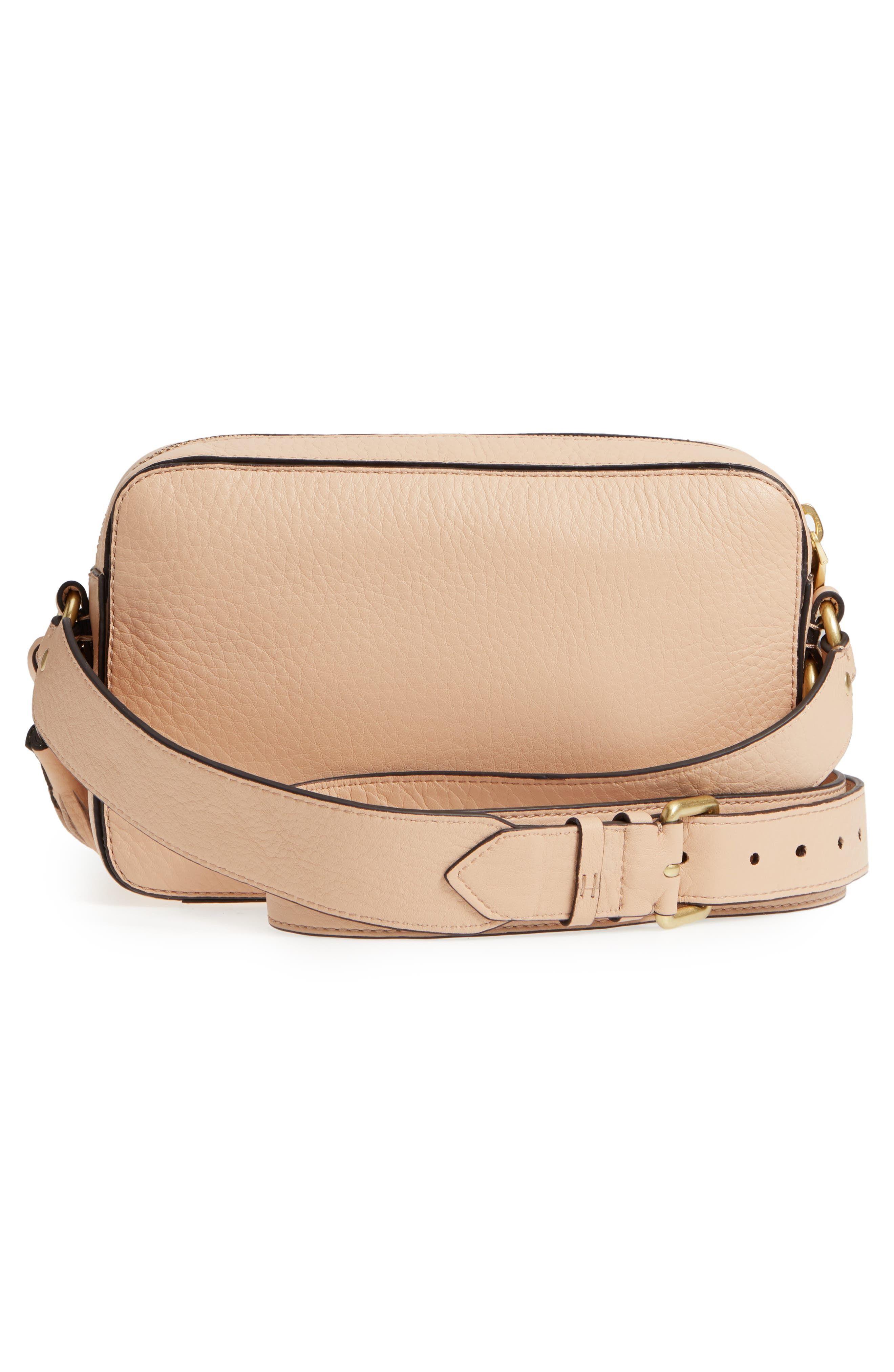 Cassidy RFID Pebbled Leather Camera Bag,                             Alternate thumbnail 11, color,