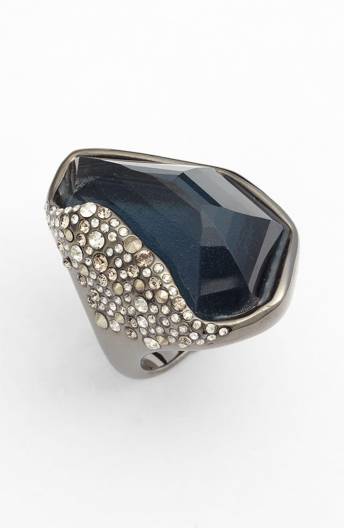 'Miss Havisham' Crystal Encrusted Ring,                             Main thumbnail 1, color,                             040