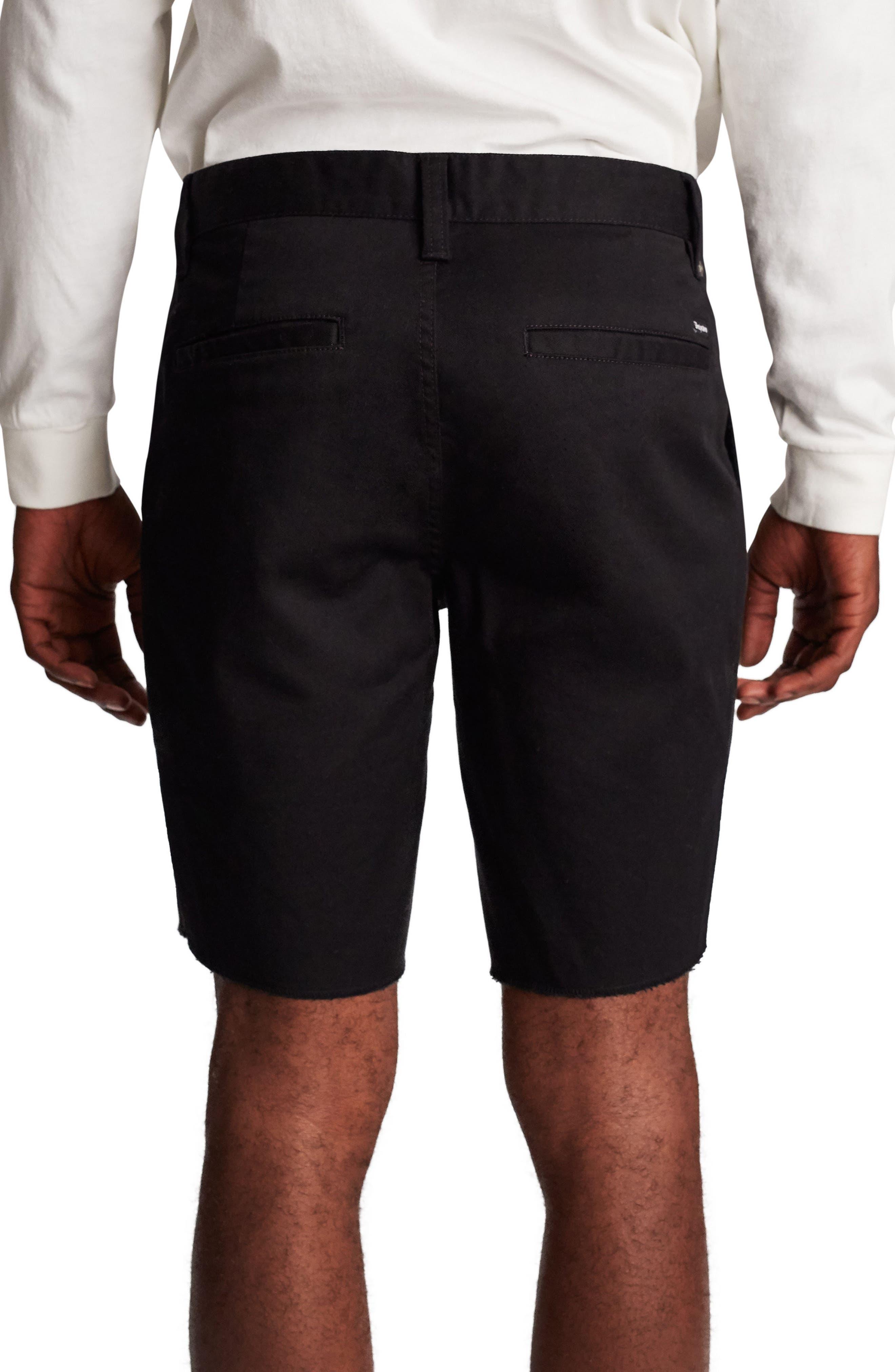Toil II Chino Shorts,                             Alternate thumbnail 2, color,                             BLACK