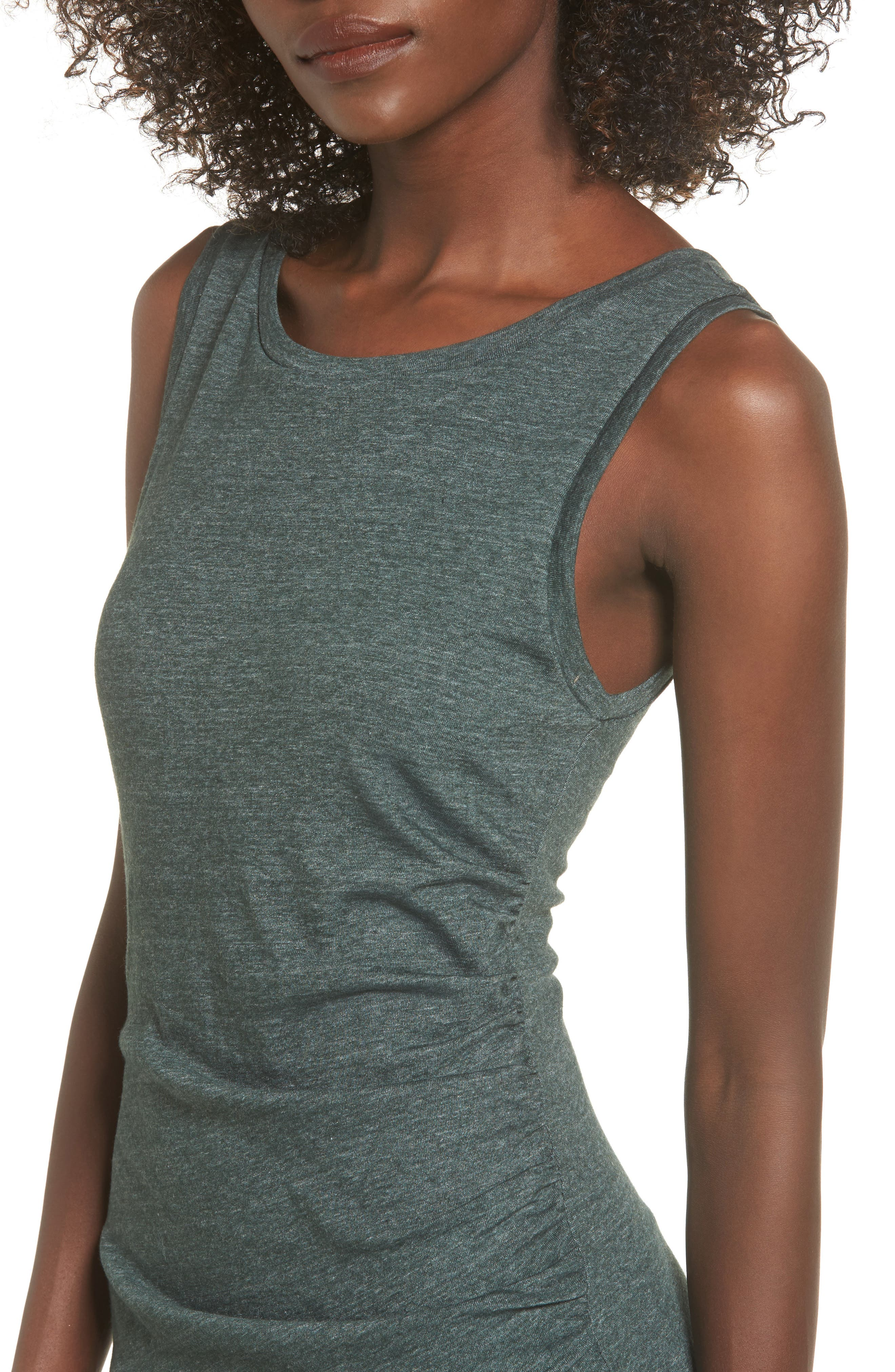 Ruched Body-Con Tank Dress,                             Alternate thumbnail 129, color,