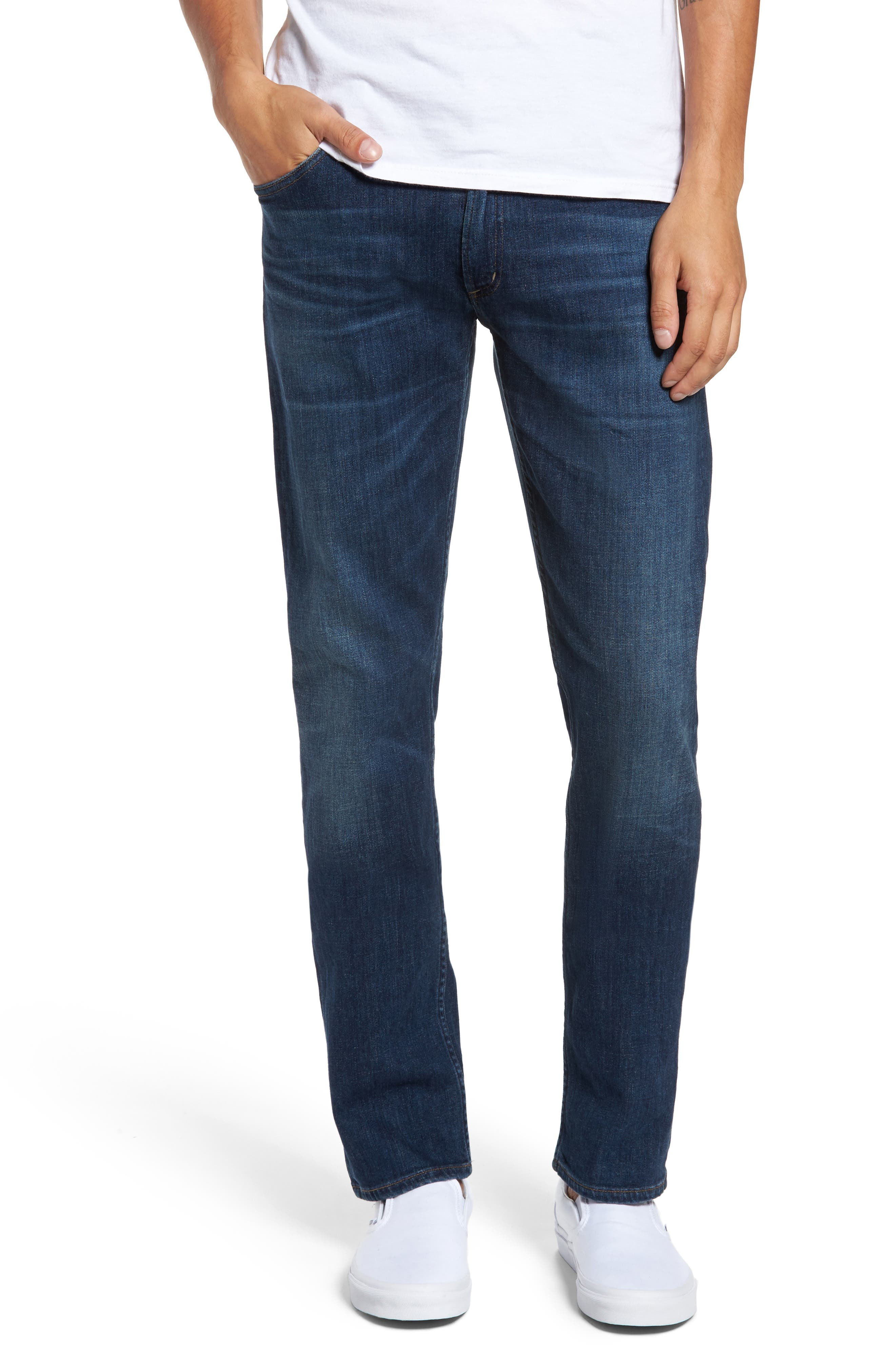 Bowery Slim Fit Jeans,                             Main thumbnail 1, color,                             401