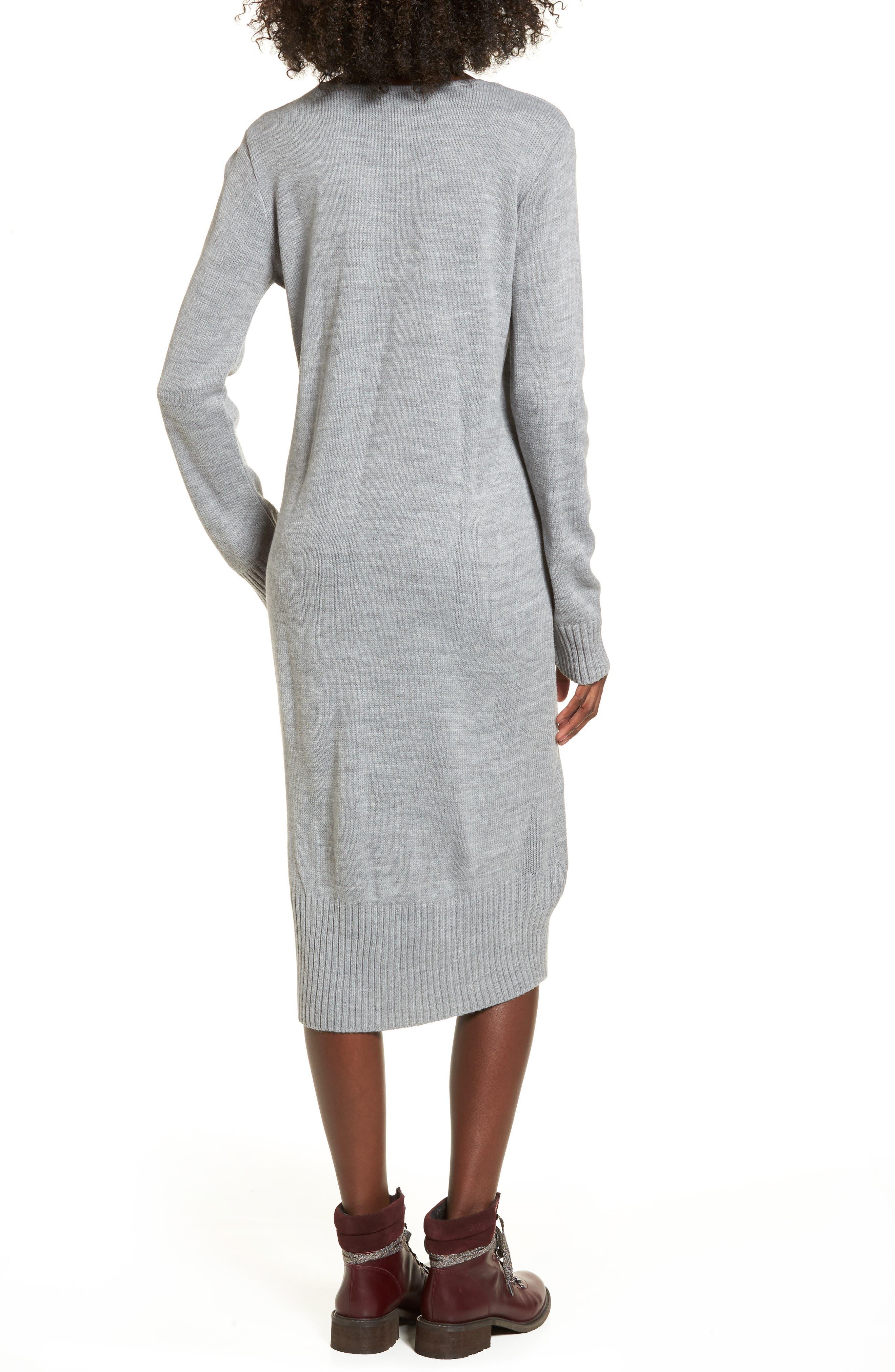 Sweater Dress,                             Alternate thumbnail 5, color,