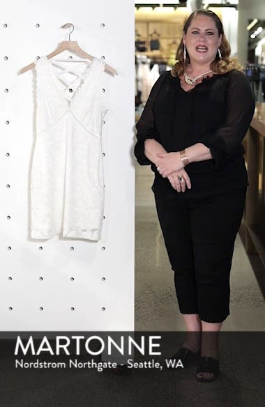 Lace Body-Con Dress, sales video thumbnail