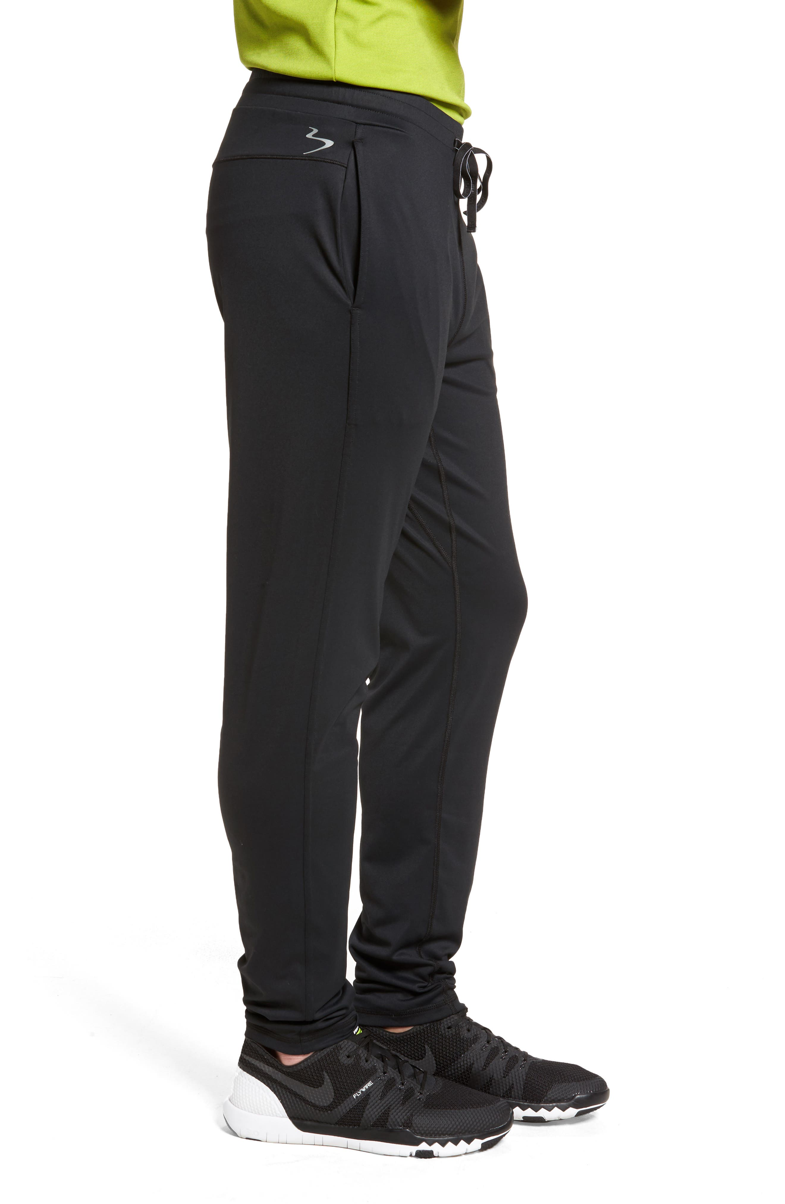 Go-To Slim Athletic Pants,                             Alternate thumbnail 3, color,                             001