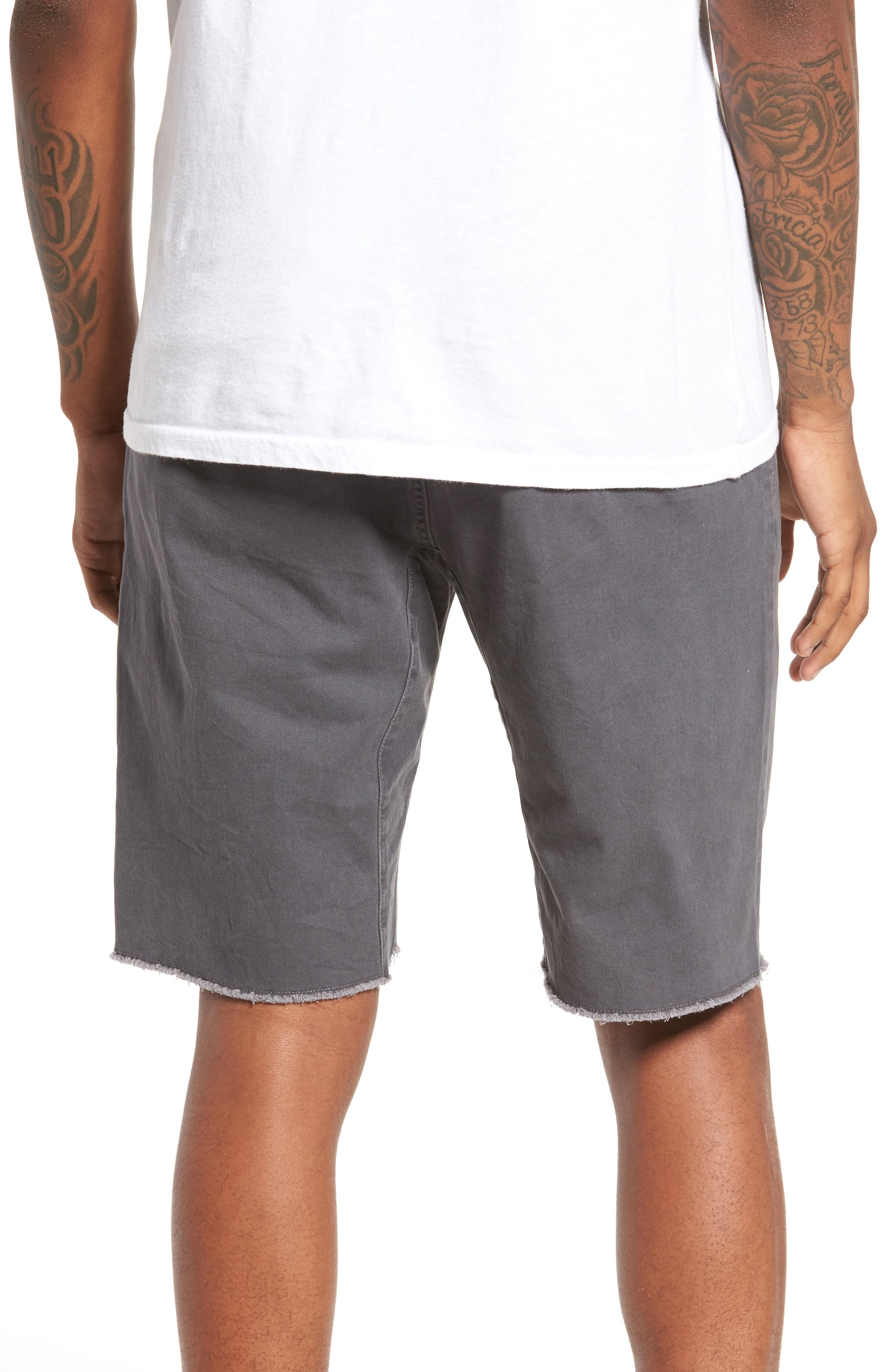 Jogger Shorts,                             Alternate thumbnail 2, color,                             GREY ONYX