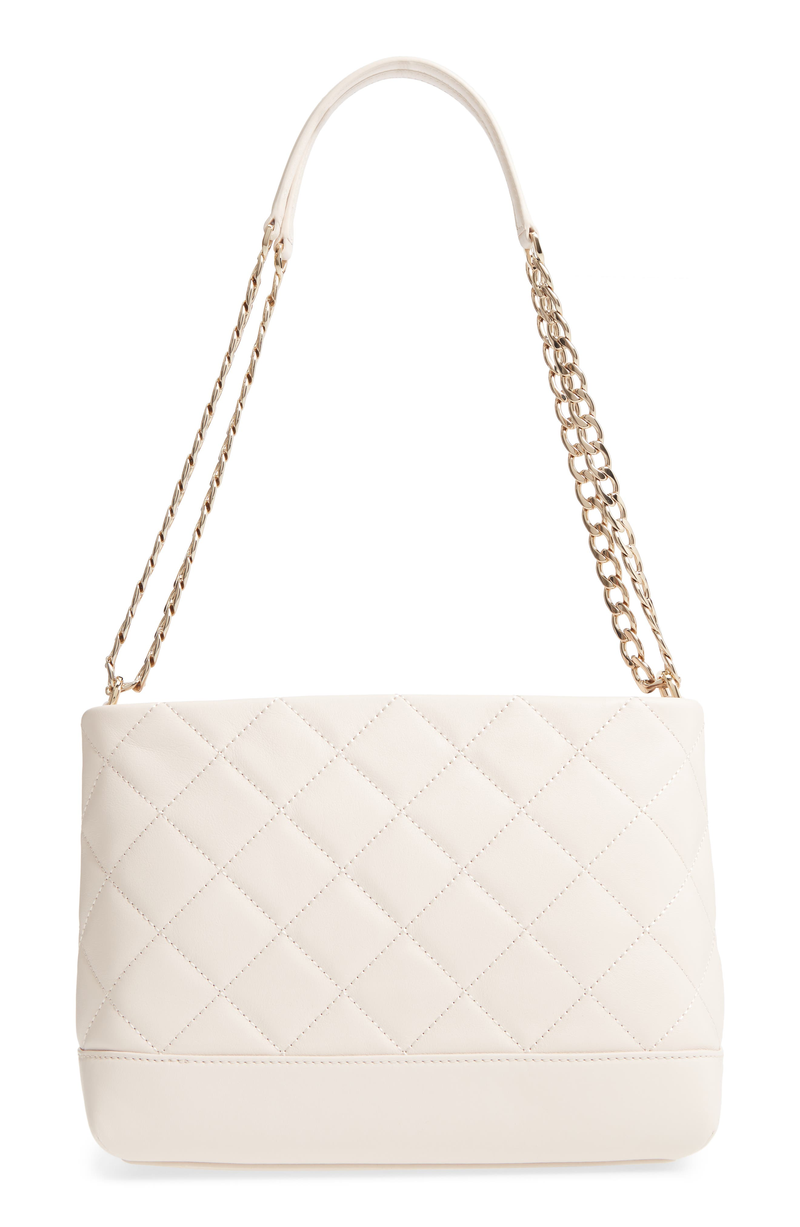 emerson place lorie quilted leather shoulder bag,                             Alternate thumbnail 3, color,                             900