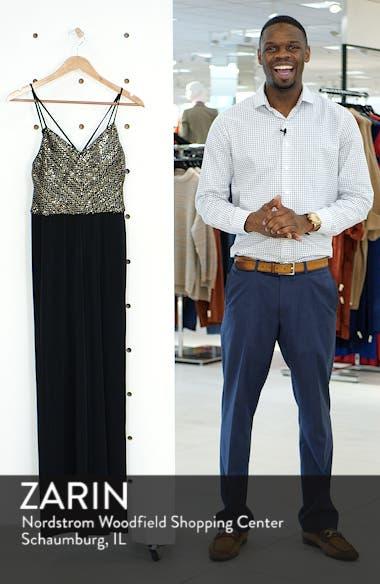 Sequin Bodice Jumpsuit, sales video thumbnail