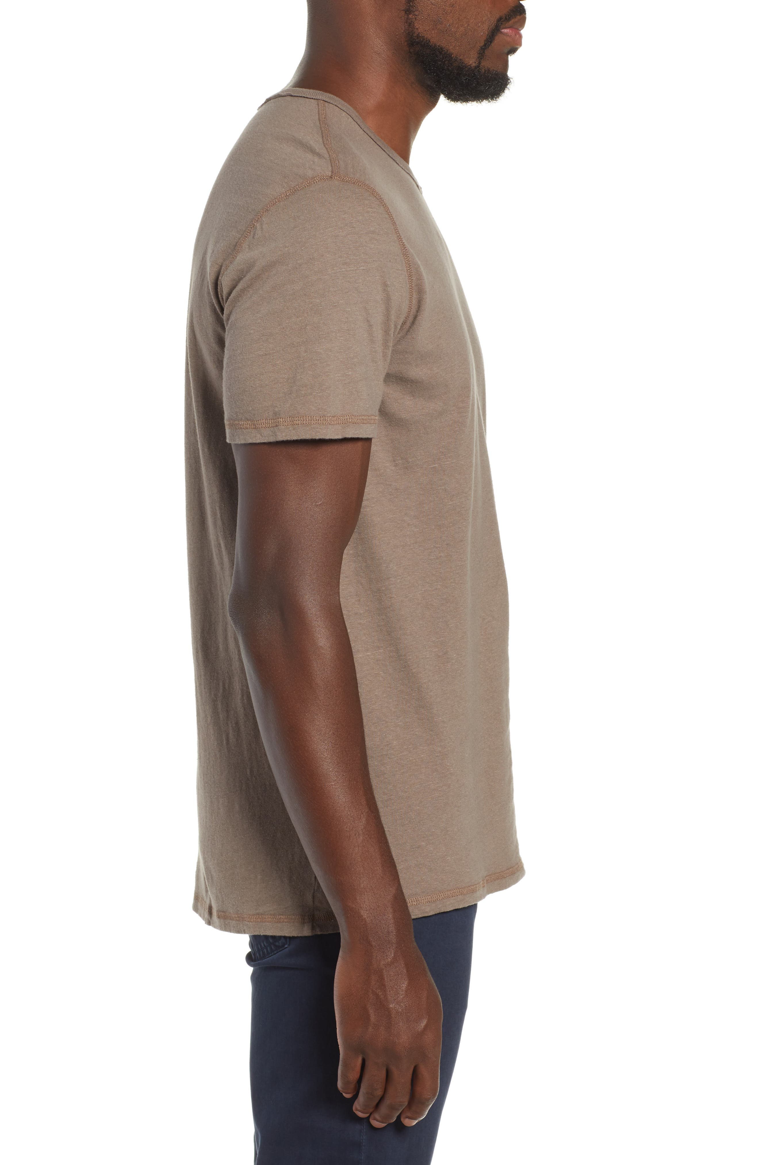Ramsey Slim Fit Crewneck T-Shirt,                             Alternate thumbnail 3, color,                             WEATHERED WET