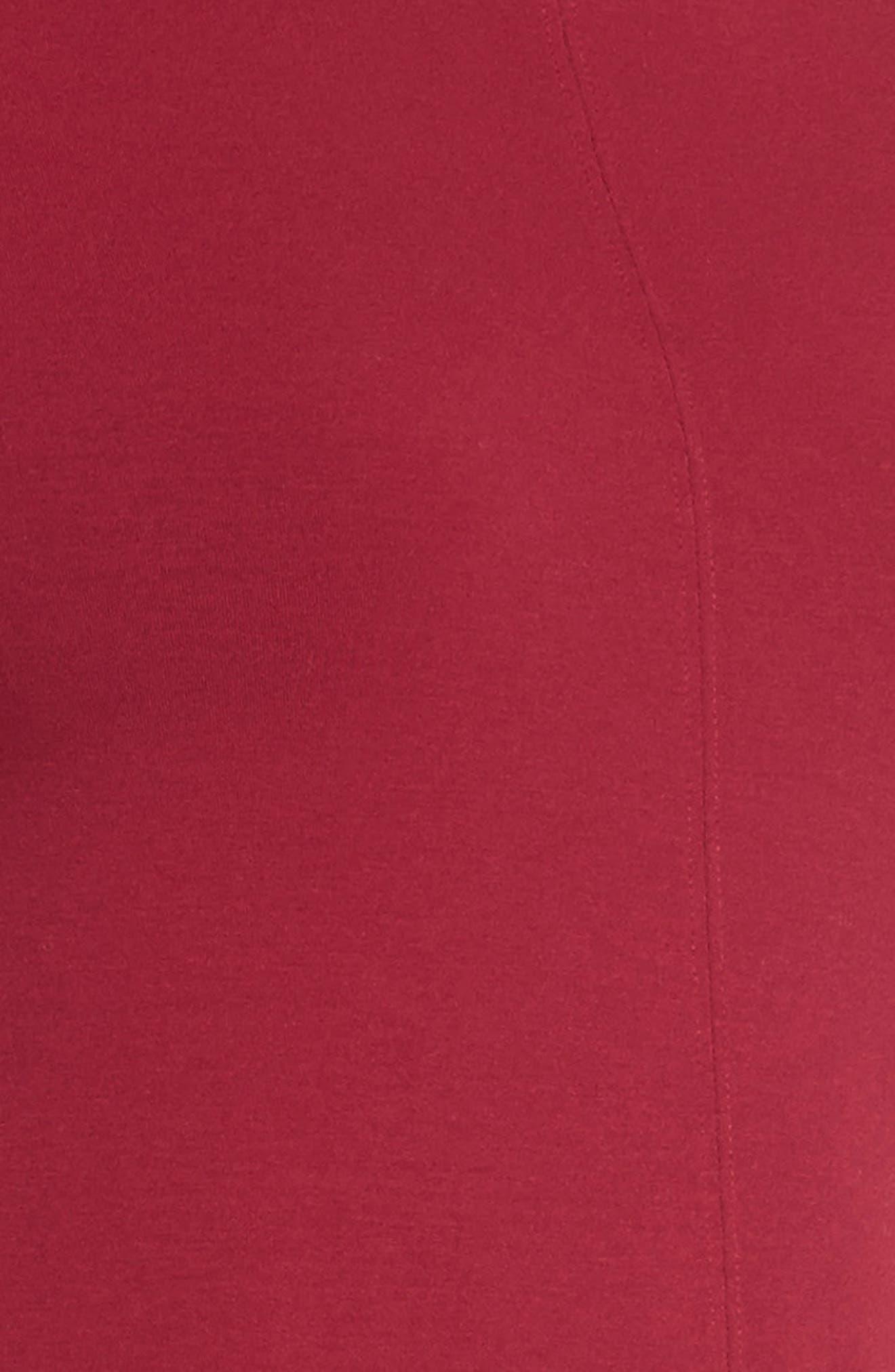 Jersey Bateau Neck Tunic,                             Alternate thumbnail 57, color,