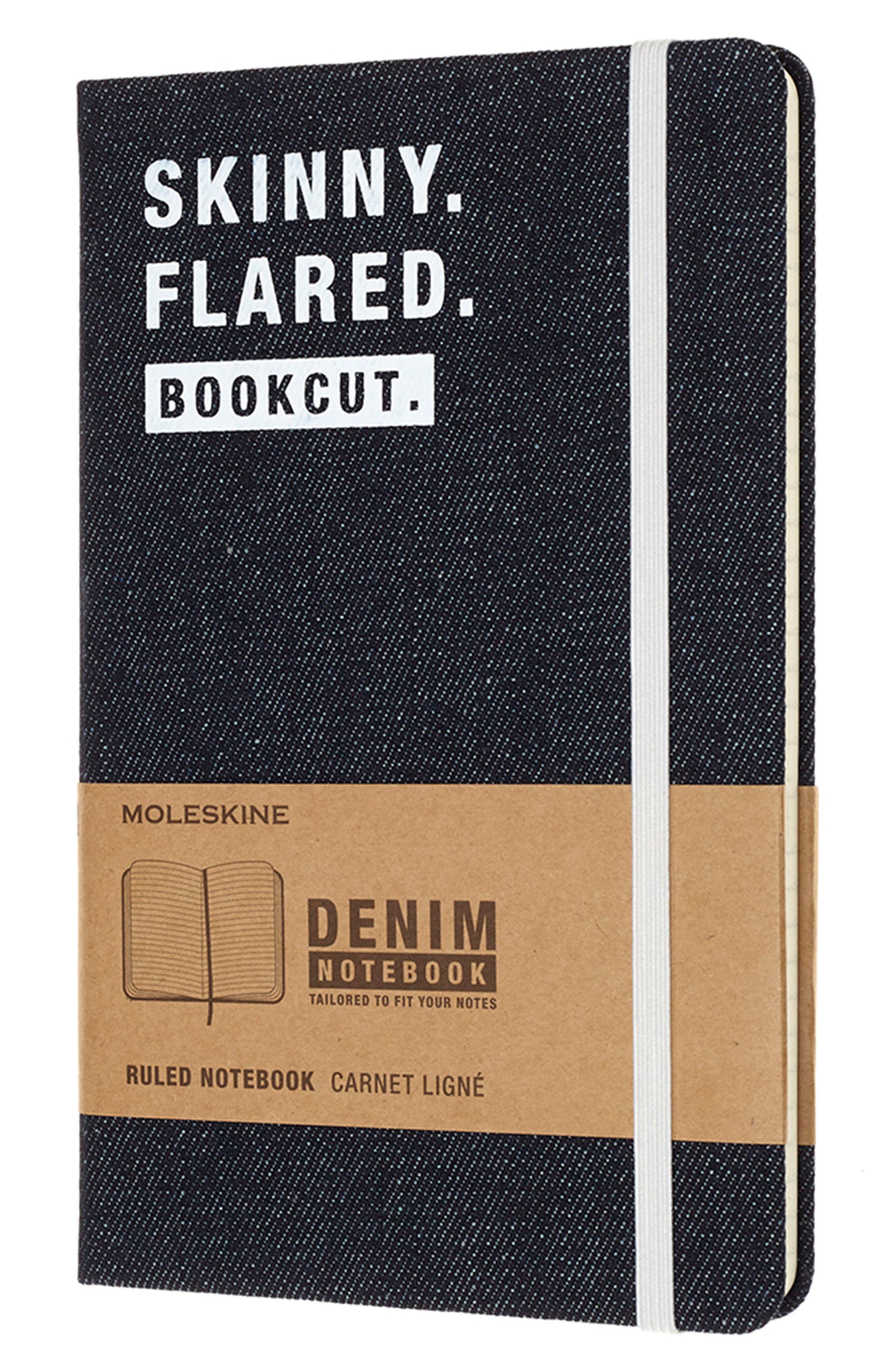 Denim Notebook,                         Main,                         color, 461