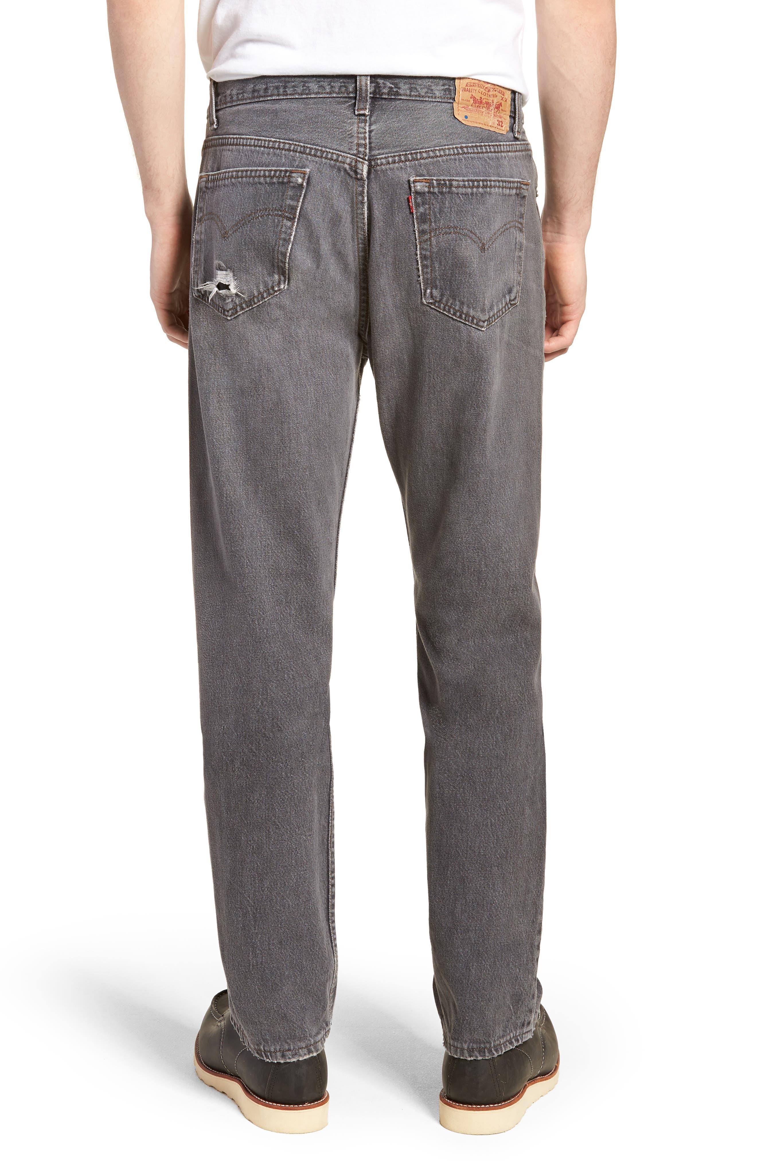 LEVI'S<SUP>®</SUP>,                             Authorized Vintage 501<sup>™</sup> Original Fit Jeans,                             Alternate thumbnail 2, color,                             AV BLACK