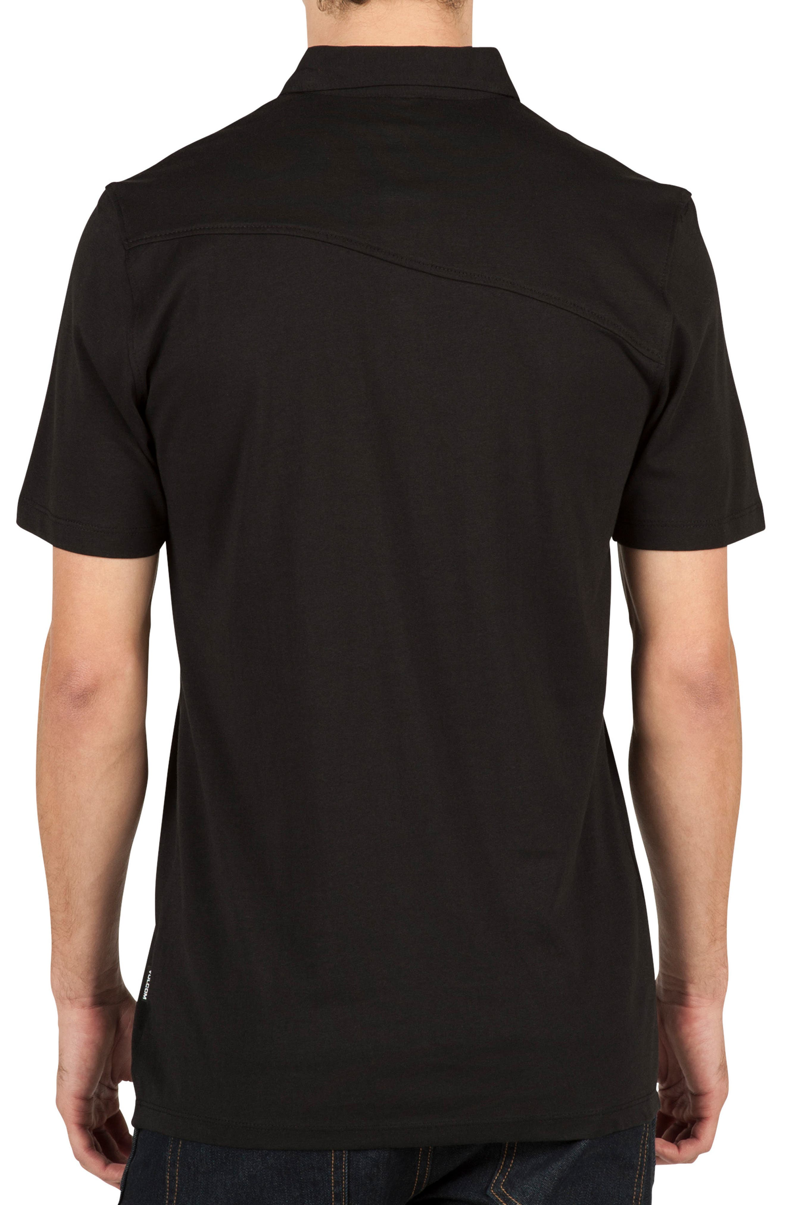 Wowzer Polo,                             Alternate thumbnail 2, color,                             BLACK