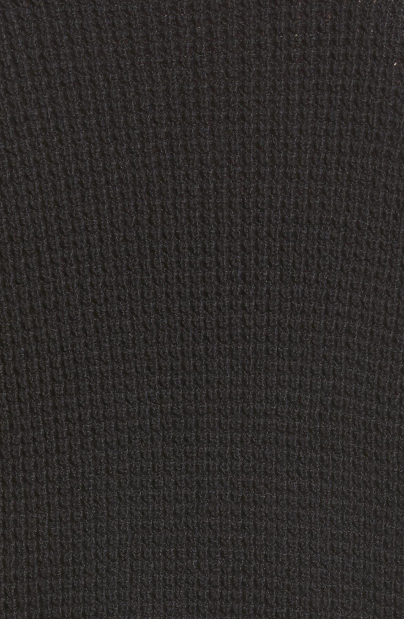Stephanie Surplice Sweater,                             Alternate thumbnail 5, color,                             001