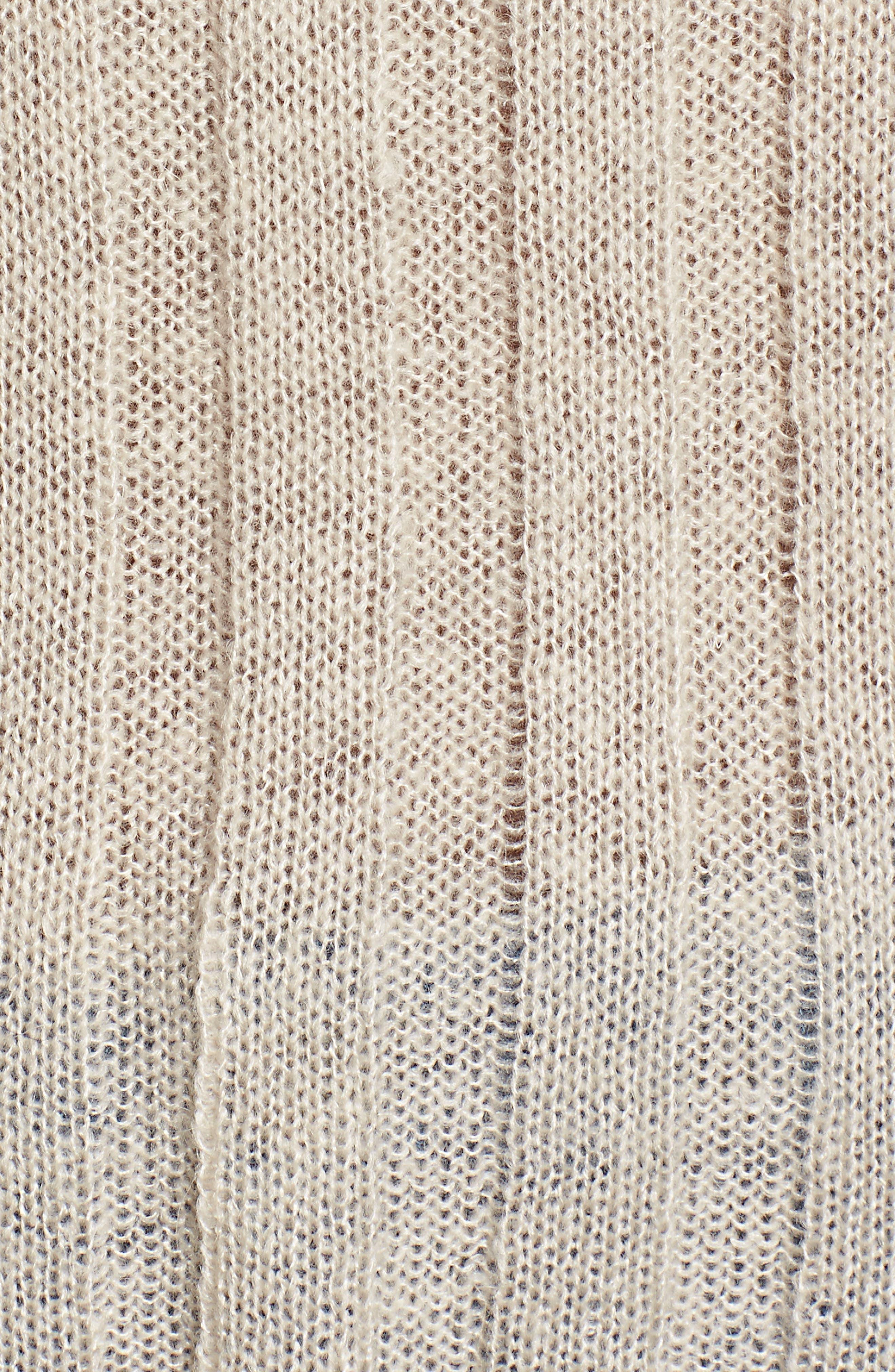 Rib Knit Sweater,                             Alternate thumbnail 5, color,                             900