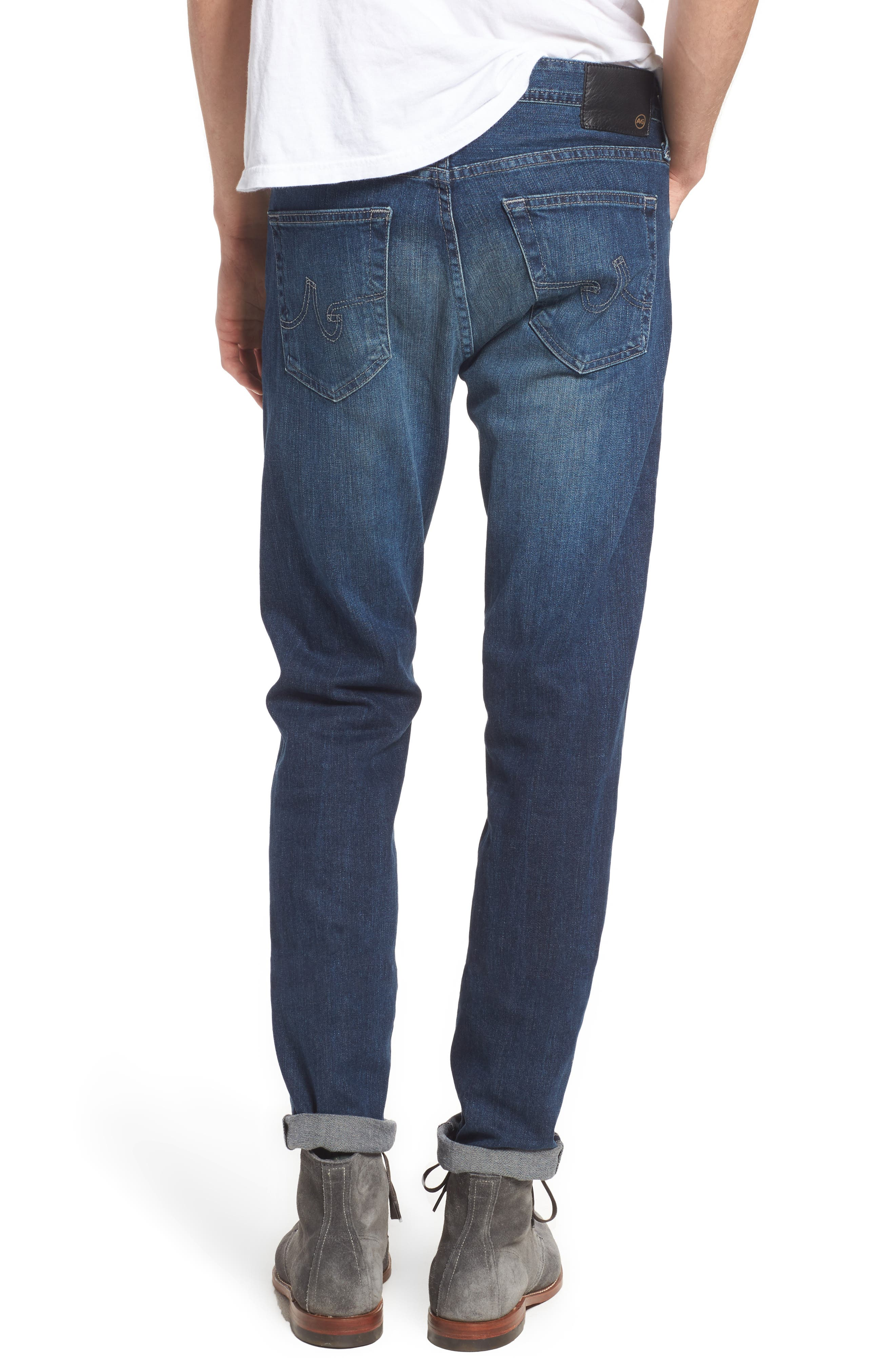 Dylan Slim Skinny Fit Jeans,                             Alternate thumbnail 2, color,                             TOWER