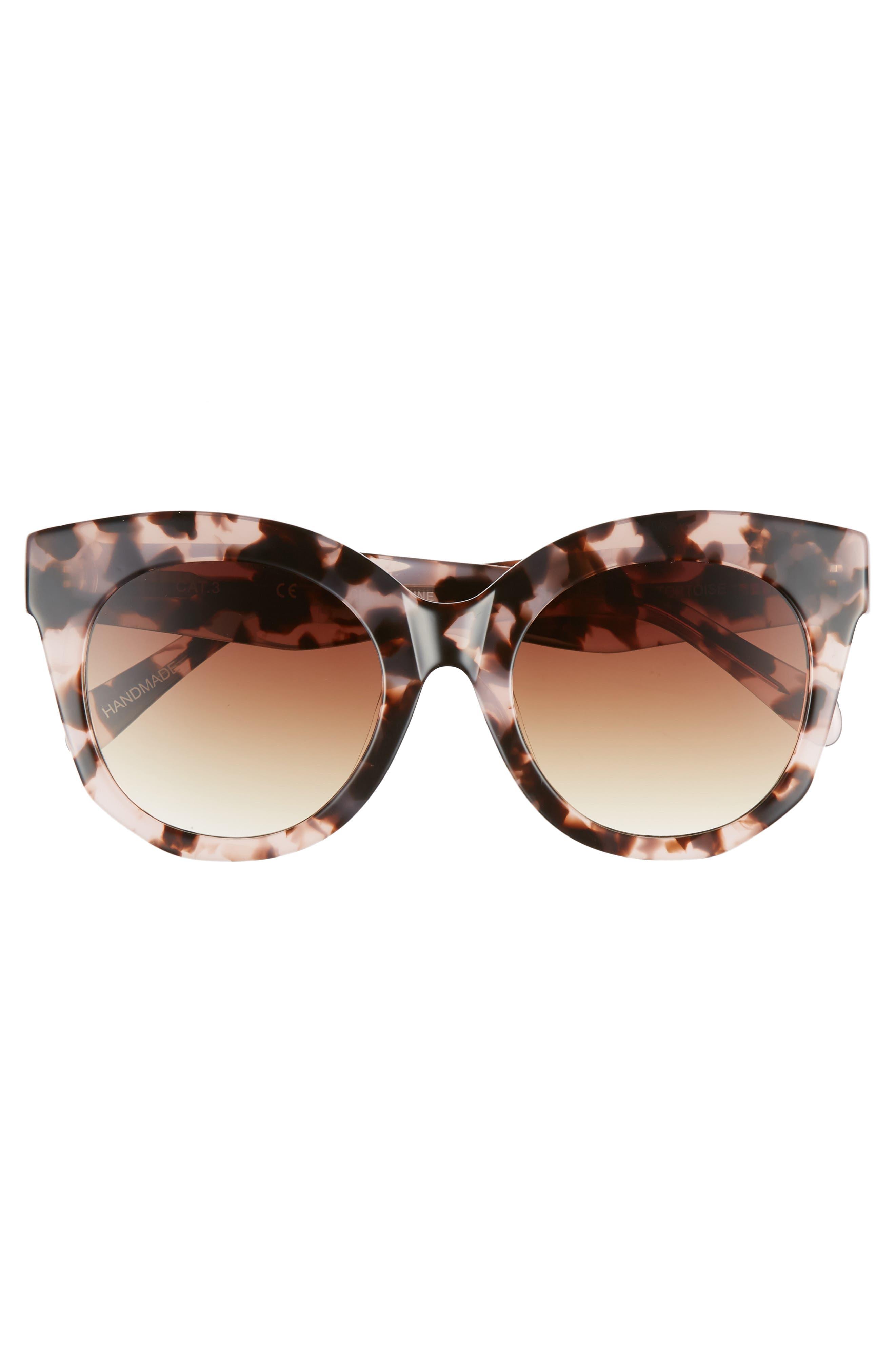 Gillian 52mm Sunglasses,                             Alternate thumbnail 3, color,                             650