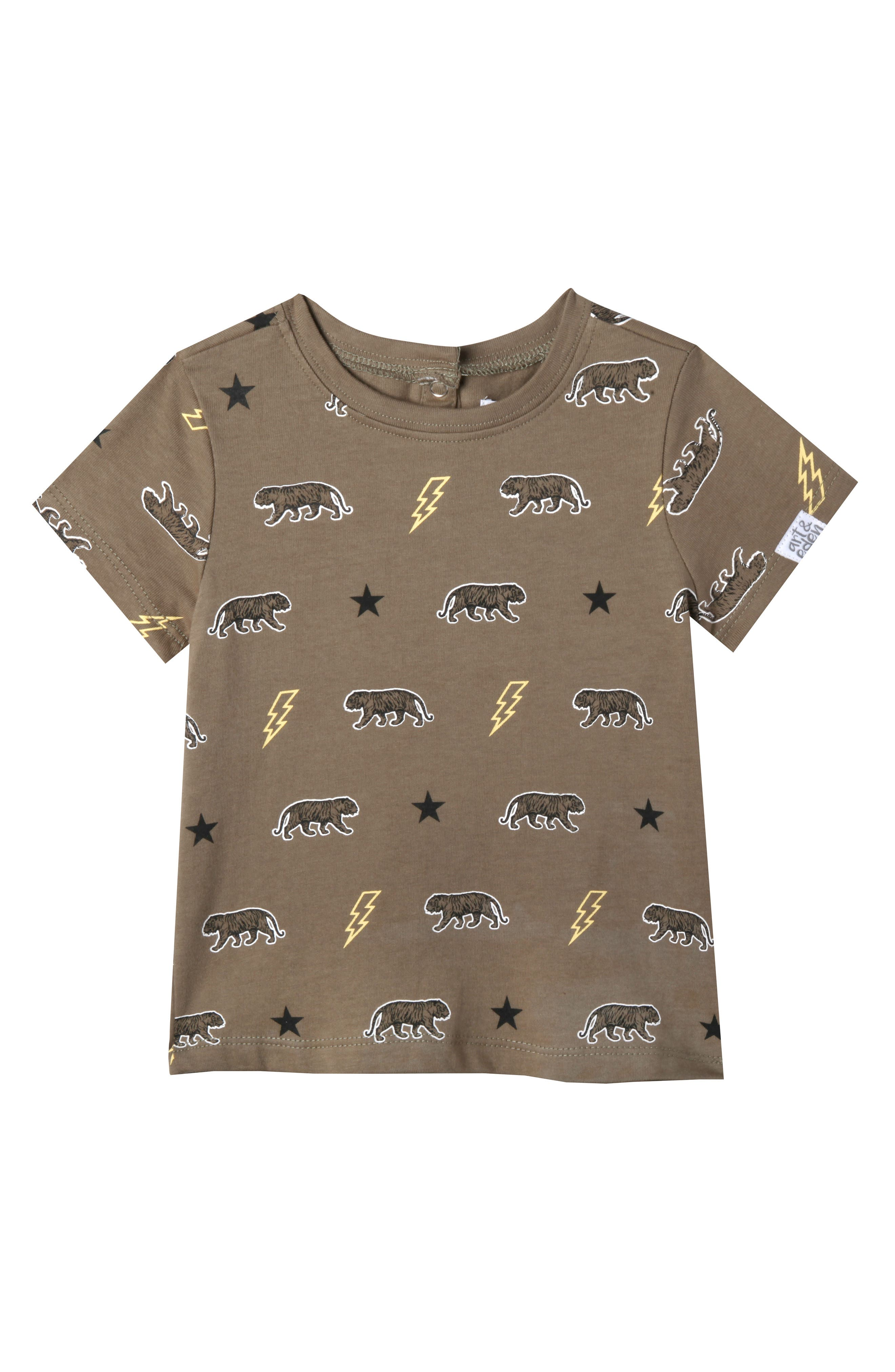 Samuel T-Shirt,                         Main,                         color, OLIVE BRANCH