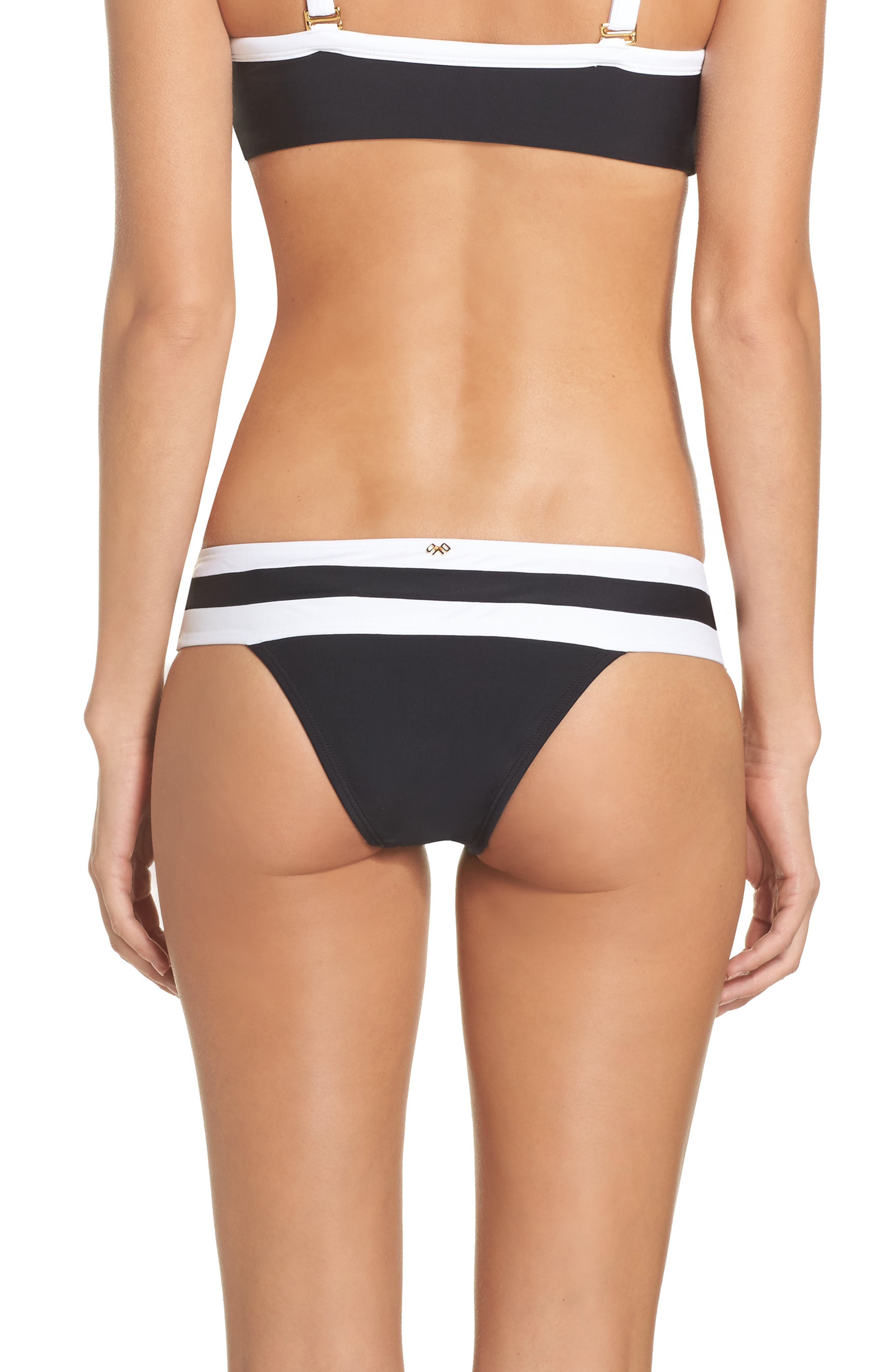 Swimwear Bikini Bottoms,                             Alternate thumbnail 3, color,