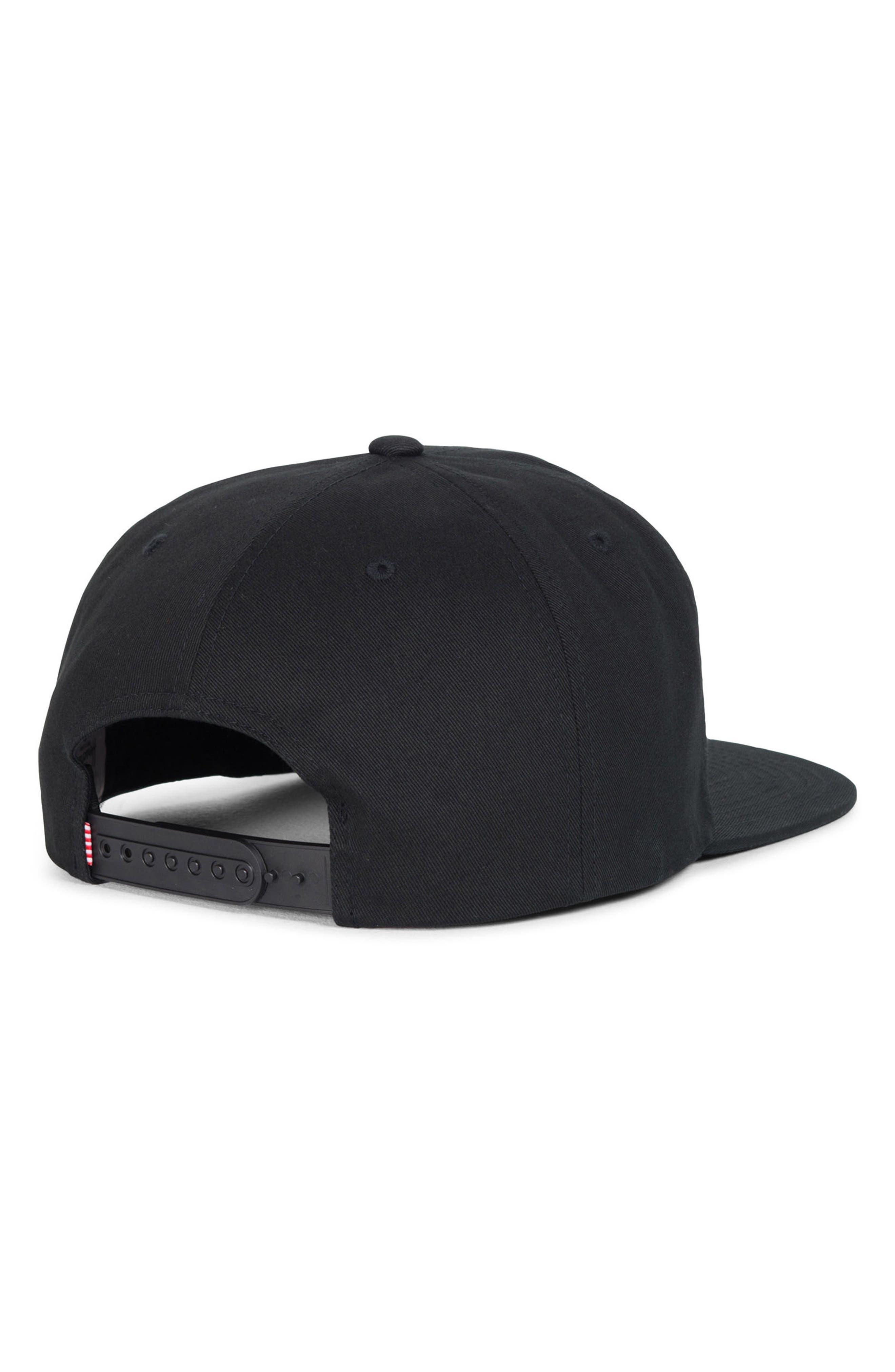 'Mosby' Snapback Baseball Cap,                             Alternate thumbnail 2, color,                             001