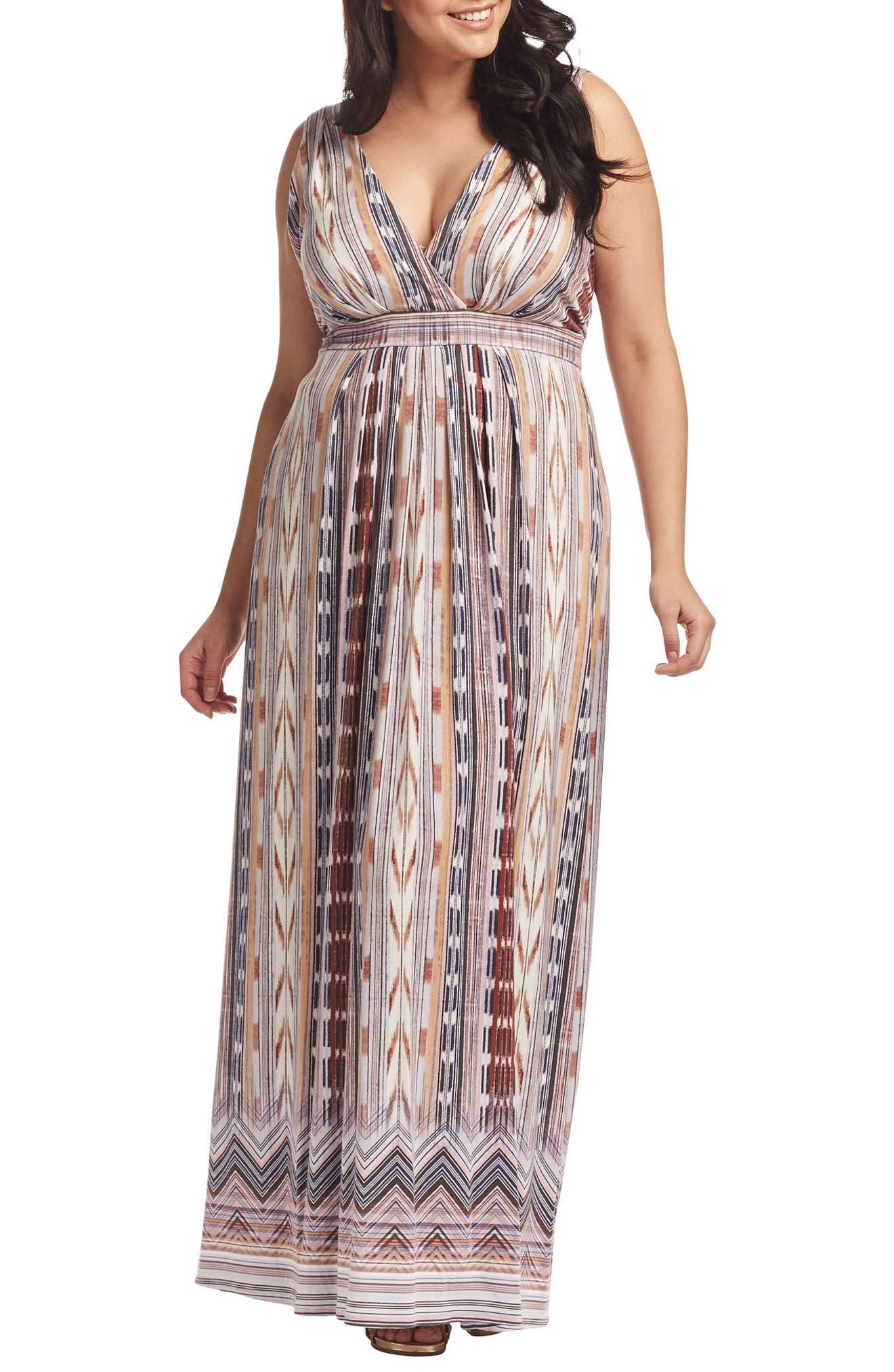 Chloe Empire Waist Maxi Dress,                             Main thumbnail 19, color,
