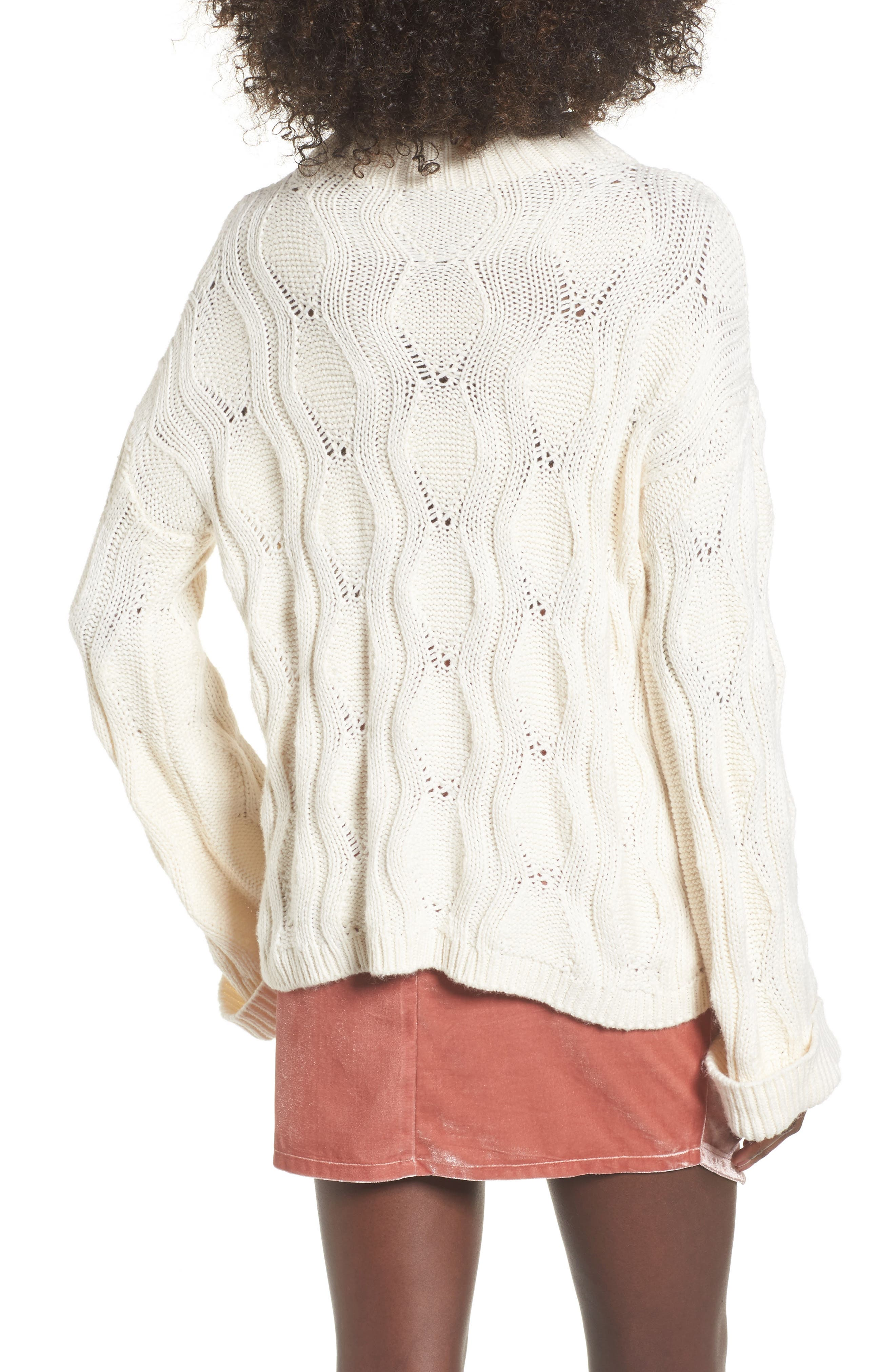 Embroidered Knit Sweater,                             Alternate thumbnail 2, color,                             900