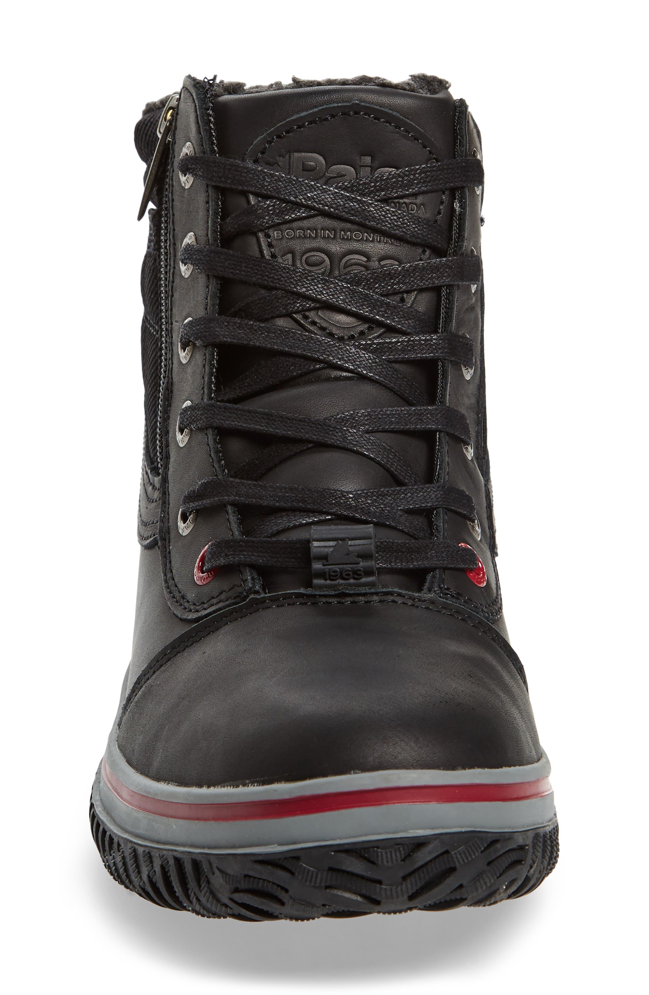 Tavin Waterproof Winter Boot,                             Alternate thumbnail 4, color,                             001