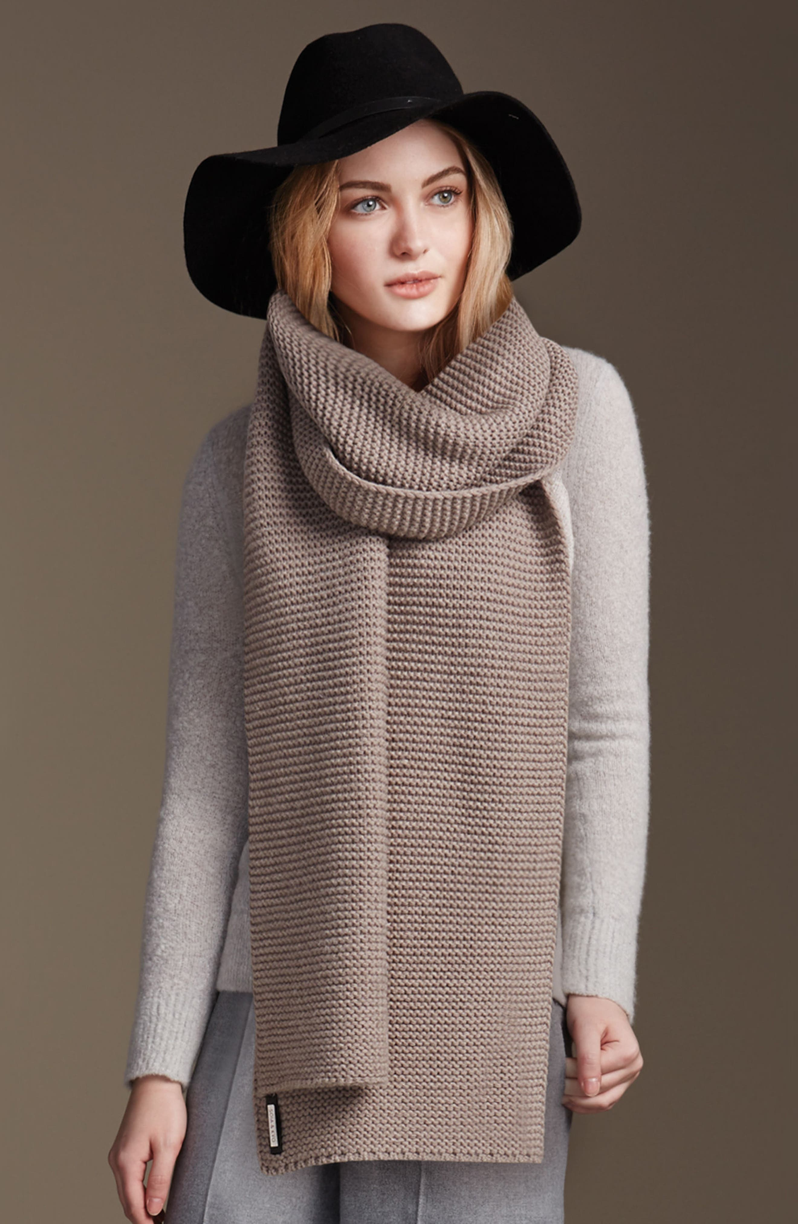 Extra Long Knit Scarf,                             Alternate thumbnail 11, color,