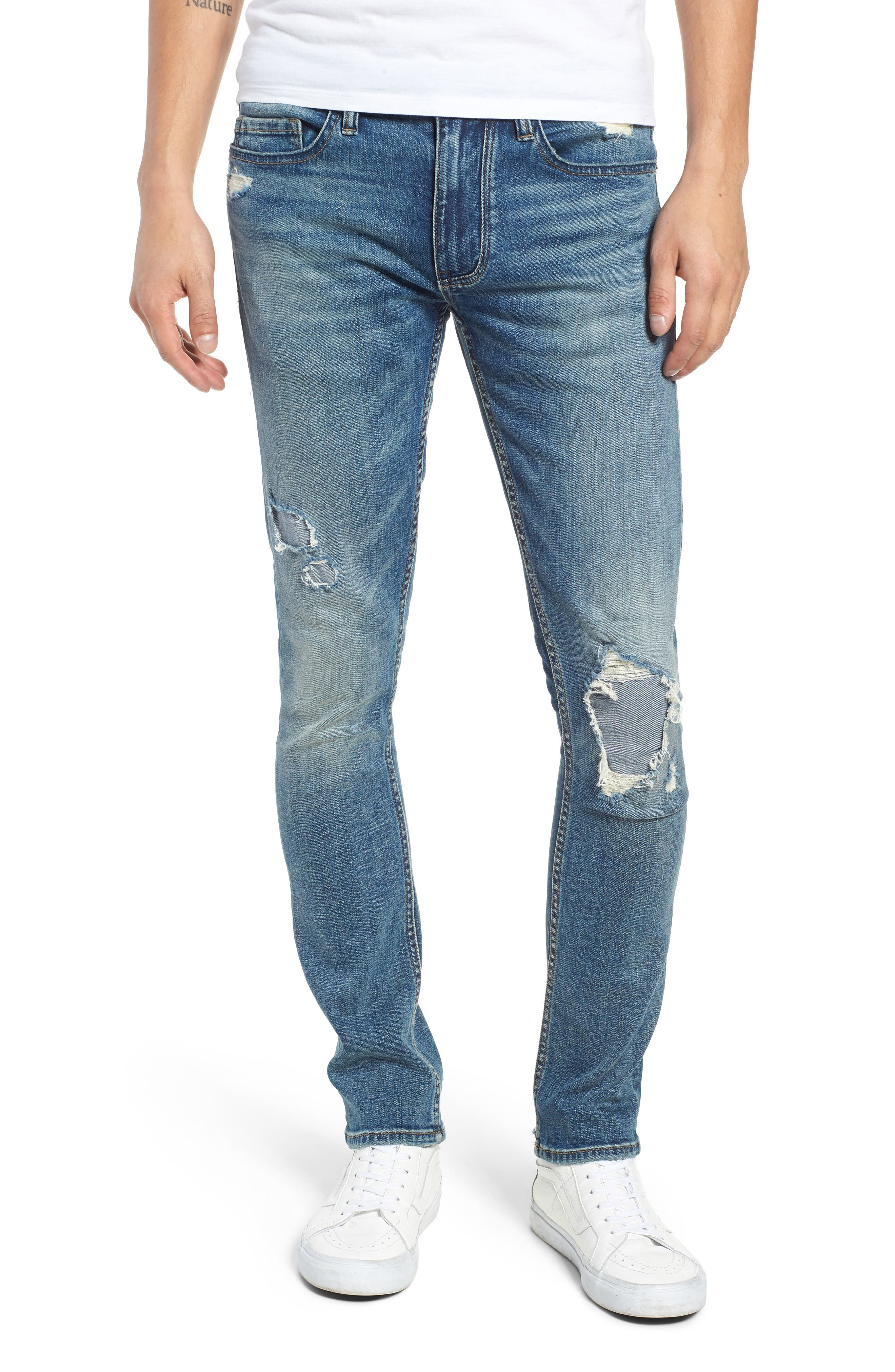 Horatio Skinny Fit Jeans,                             Main thumbnail 1, color,                             SUDDEN PROFIT