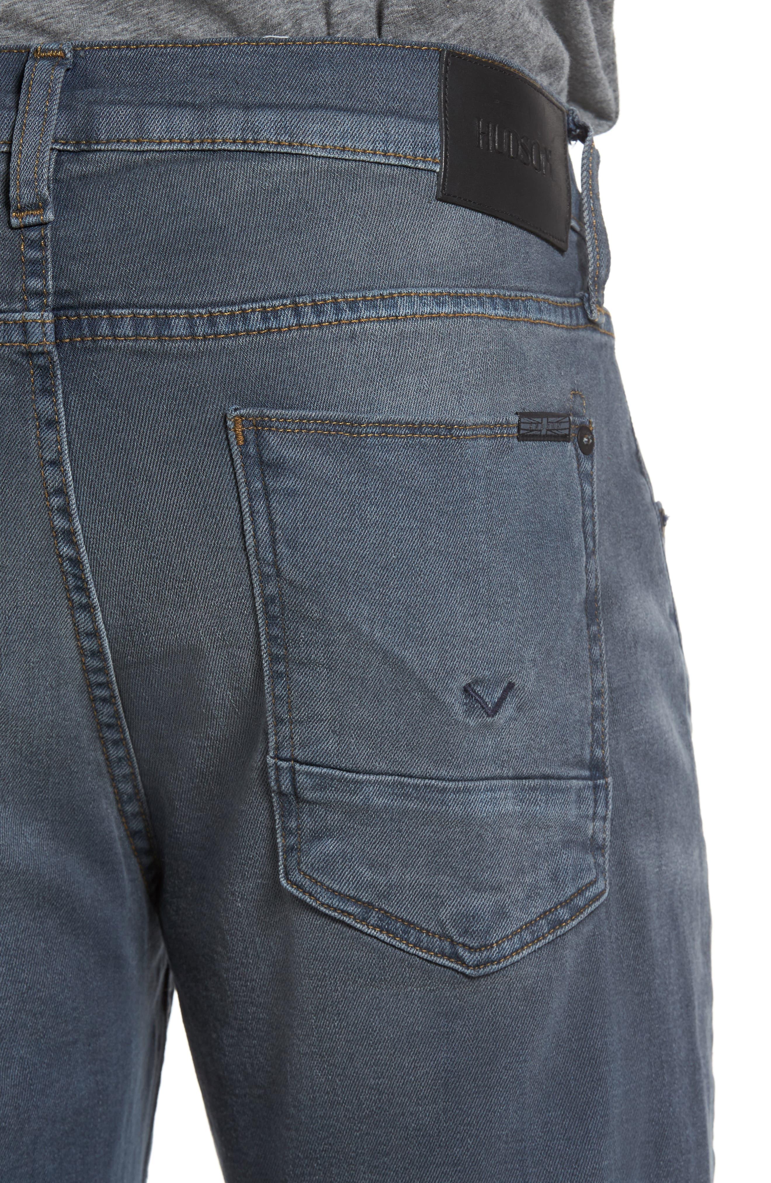 Byron Slim Straight Leg Jeans,                             Alternate thumbnail 4, color,                             020