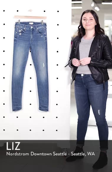 'The Looker' Skinny Stretch Jeans, sales video thumbnail