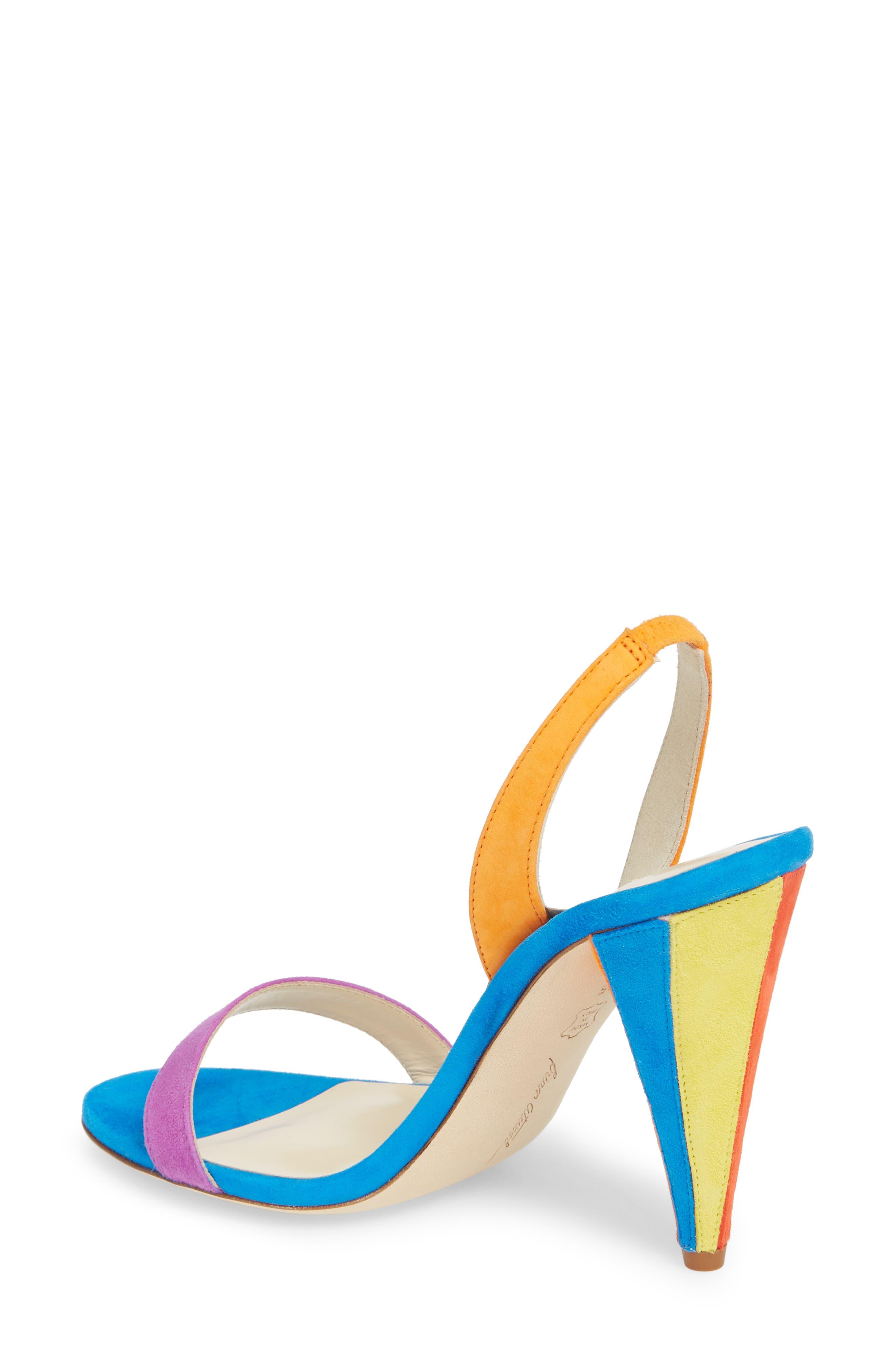 Susii Cone Heel Sandal,                             Alternate thumbnail 2, color,                             400